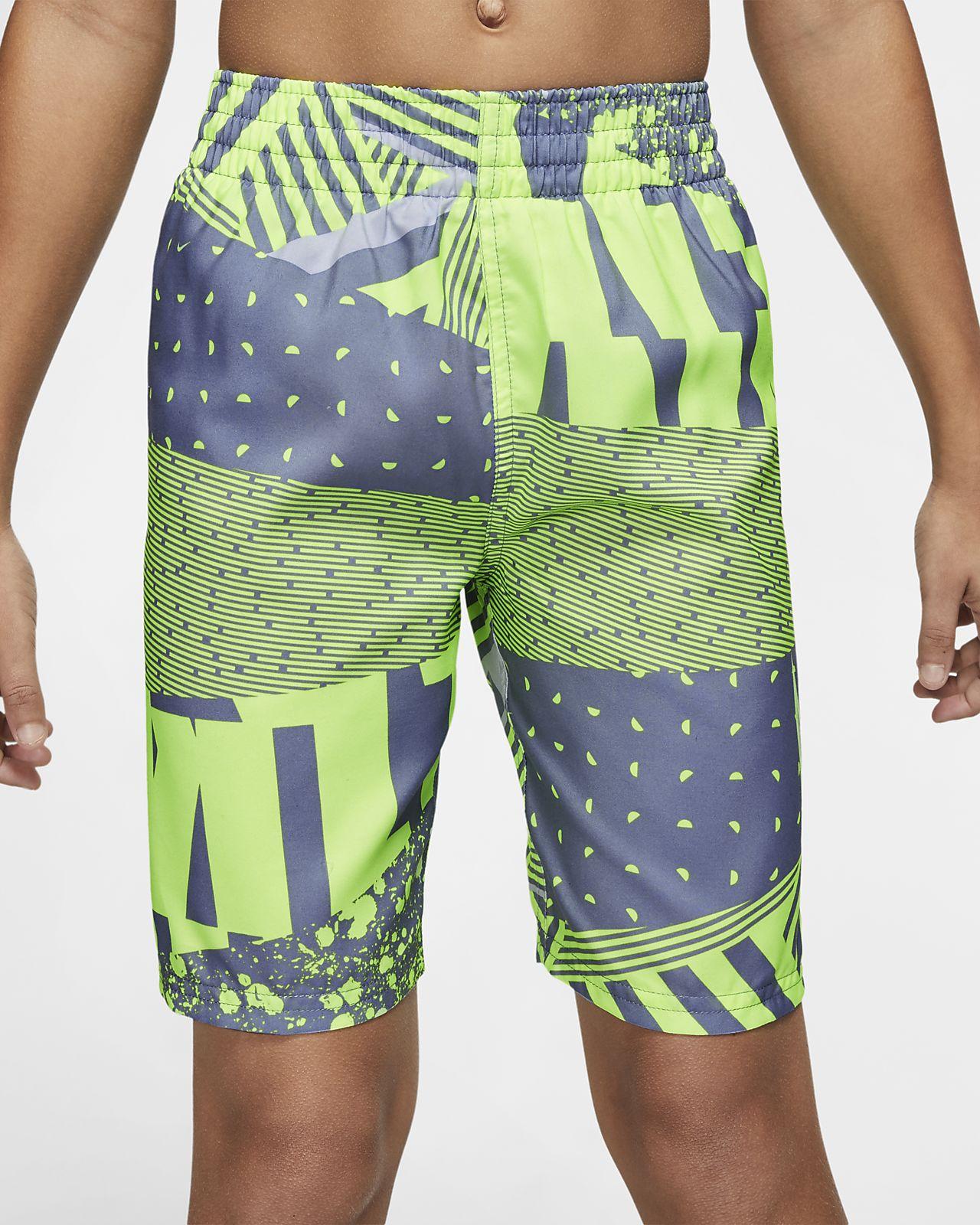 "Nike Mash Up Breaker Big Kids' (Boys') 8"" Swim Trunks"