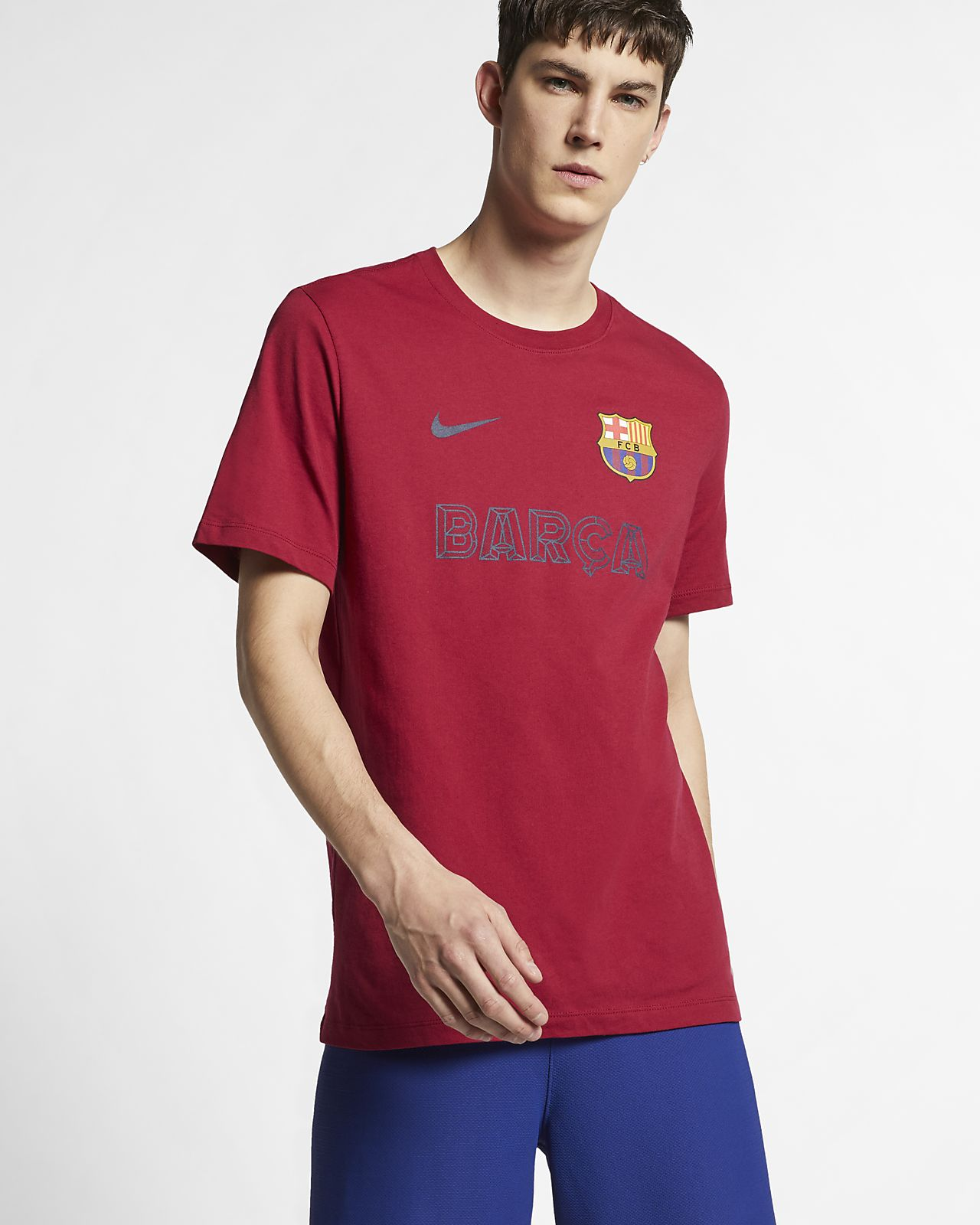 Мужская футболка Nike FC Barcelona