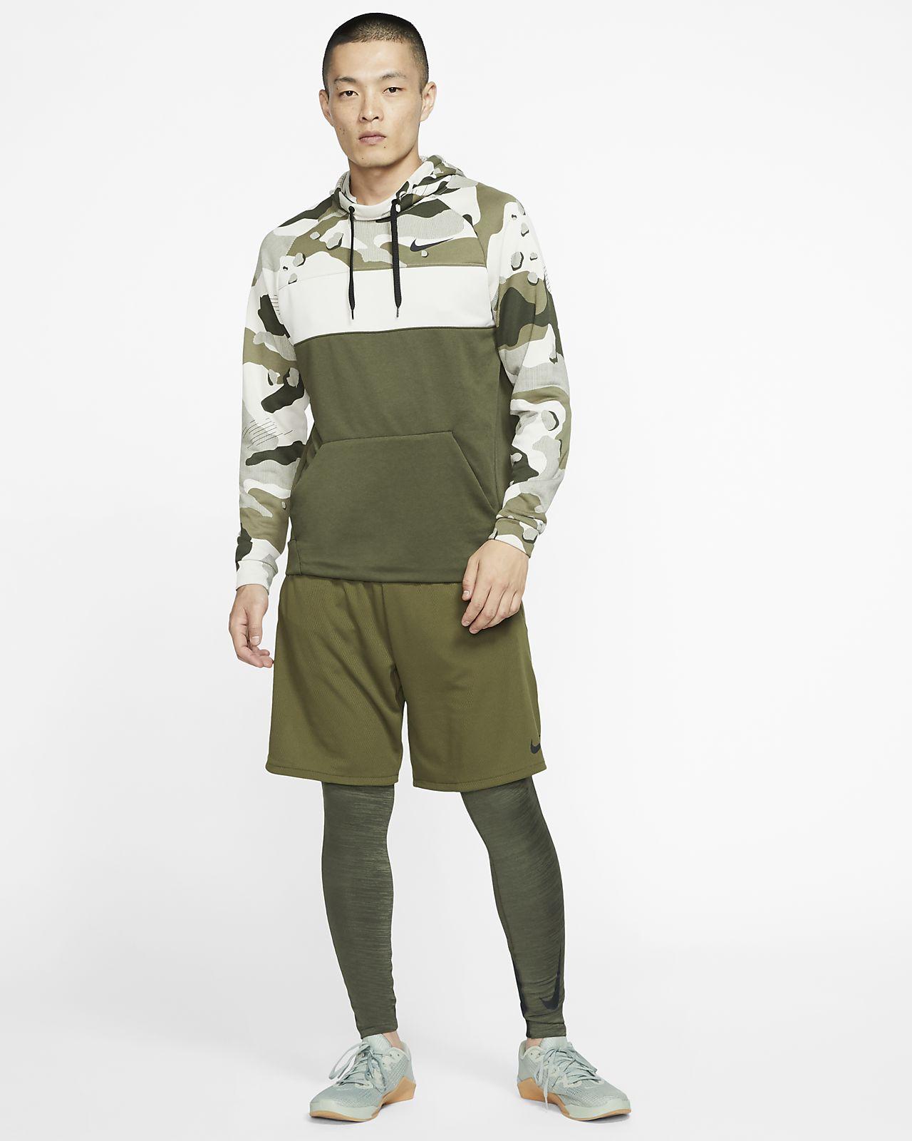 Nike Dri FIT Men's Fleece Camo Training Hoodie