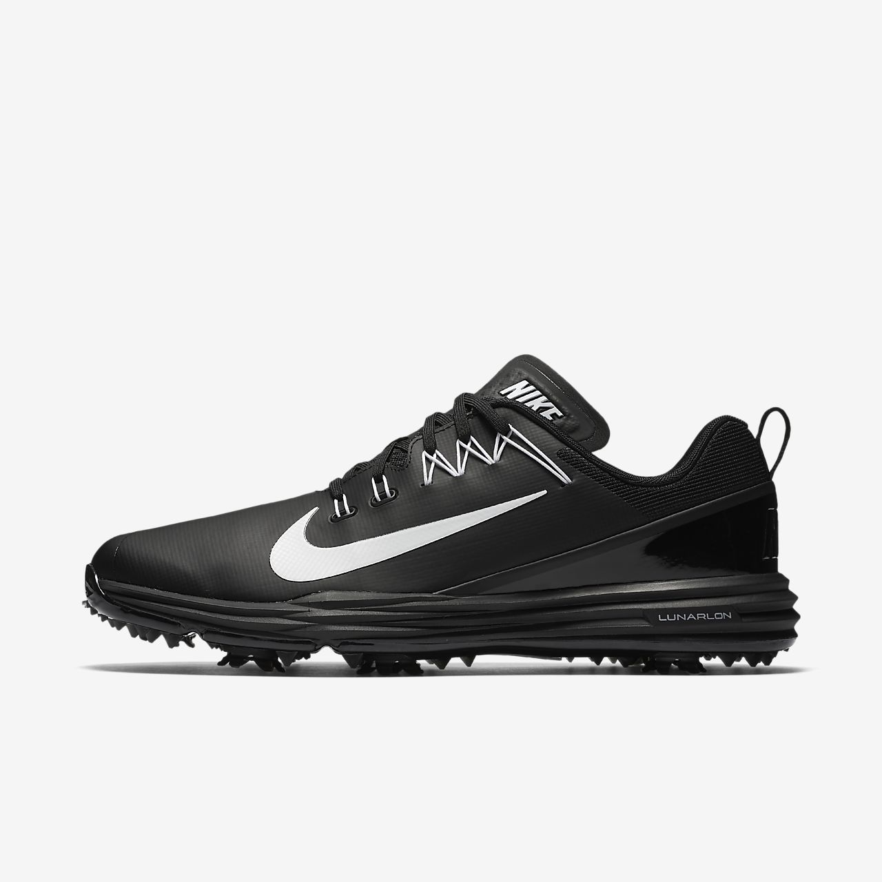 Nike Lunar Command 2 Scarpe da Golf Uomo Nero Black/White 47.5 EU