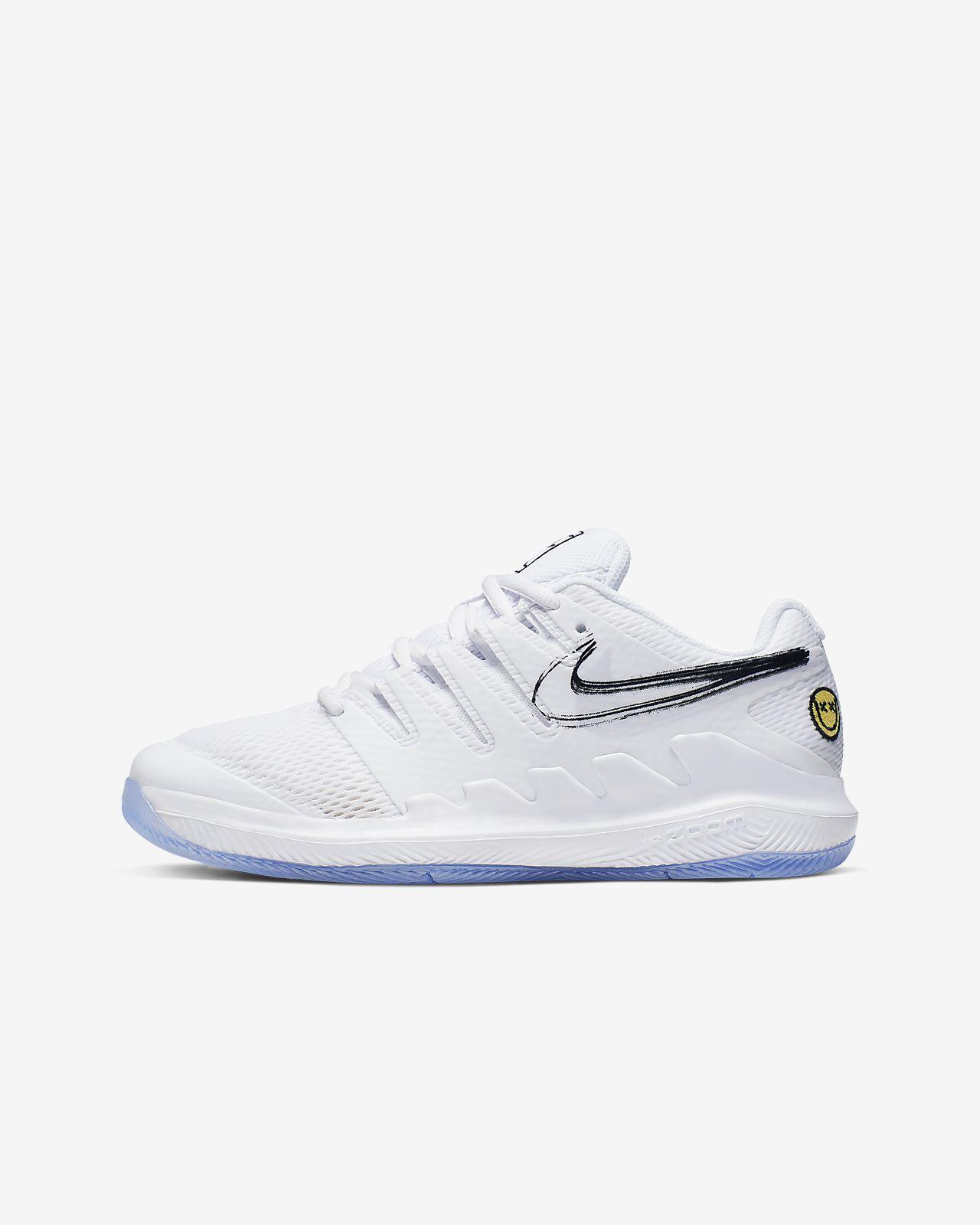 Chaussure de tennis NikeCourt Jr. Vapor X pour Jeune enfant/Enfant plus âgé
