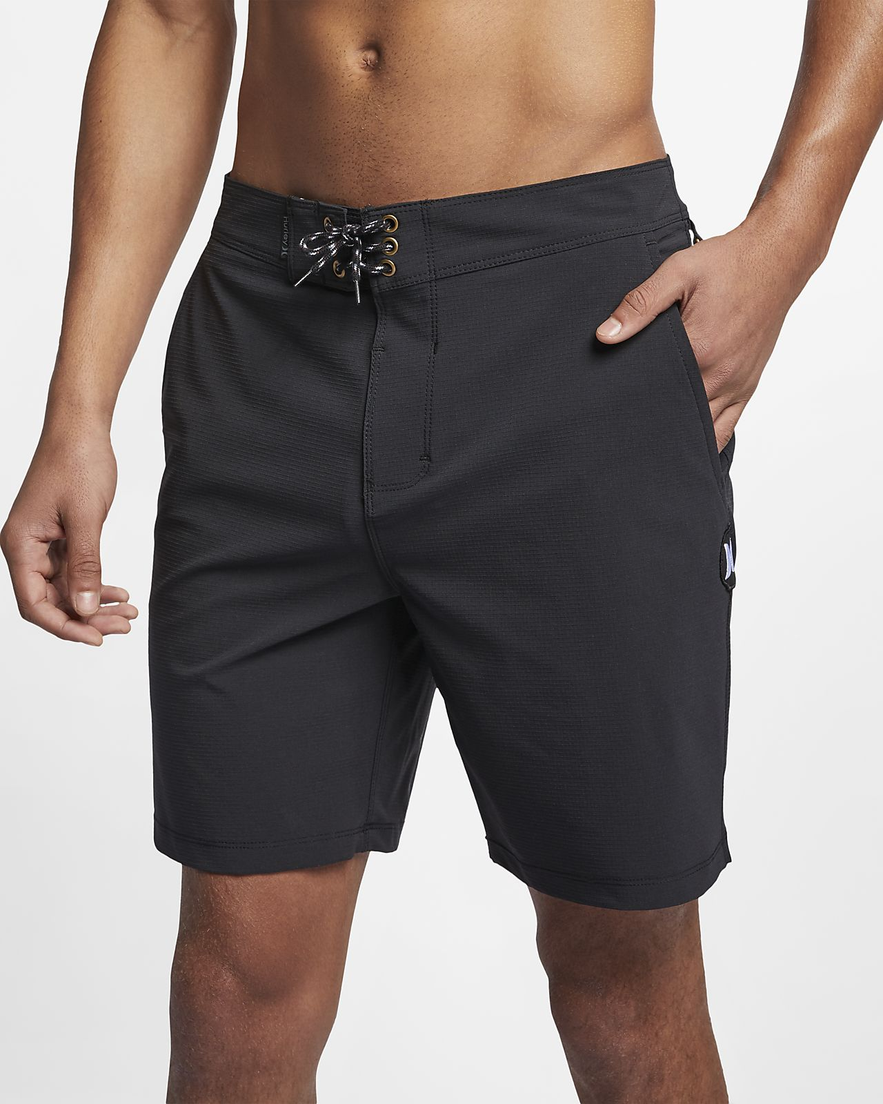 Shorts de playa de 46 cm para hombre Hurley Phantom Pierbowl Beachside