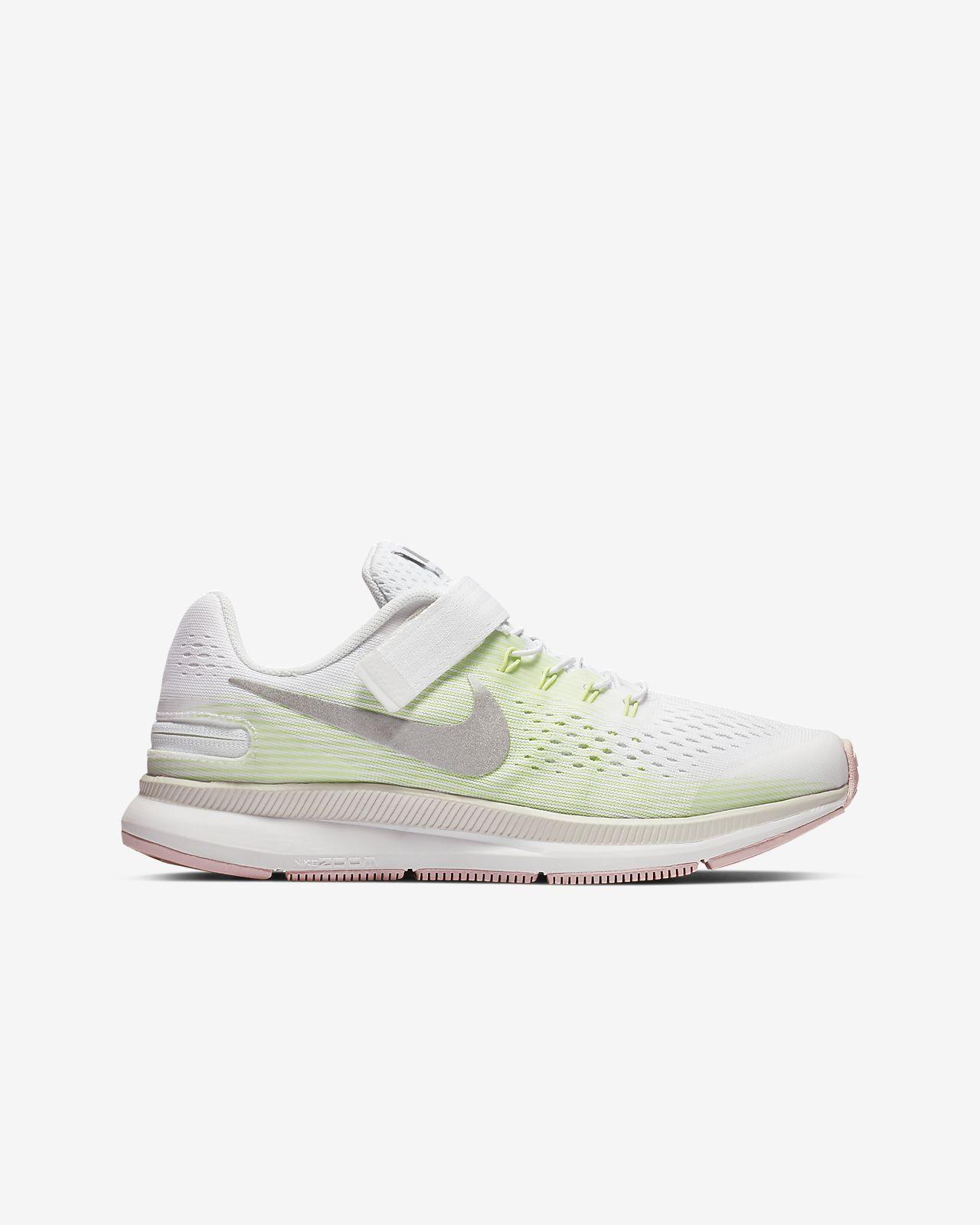 efb19744d Nike Zoom Pegasus 34 FlyEase Younger/Older Kids' Running Shoe. Nike ...