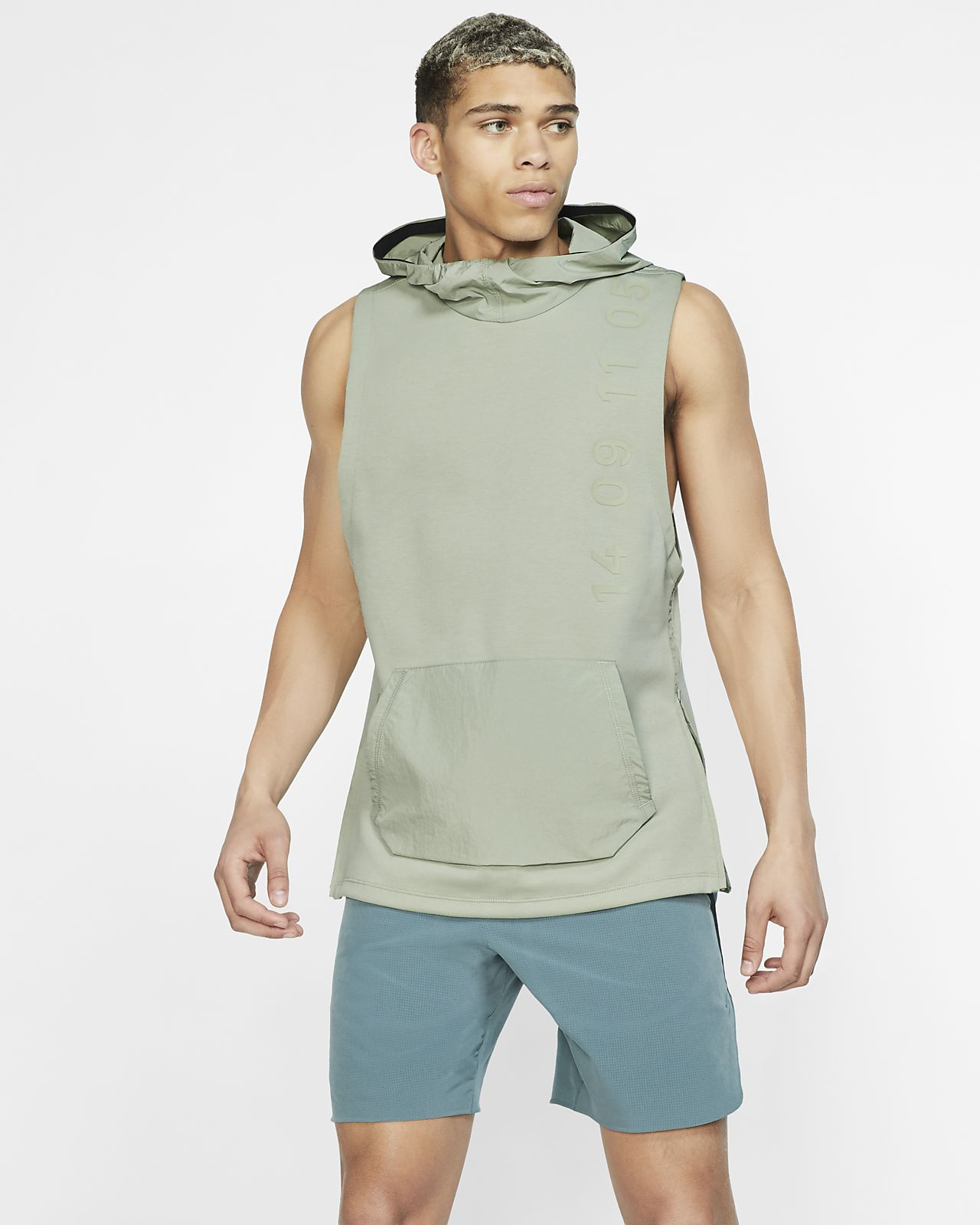Nike Therma Tech Pack Men's Hooded Sleeveless Training Top