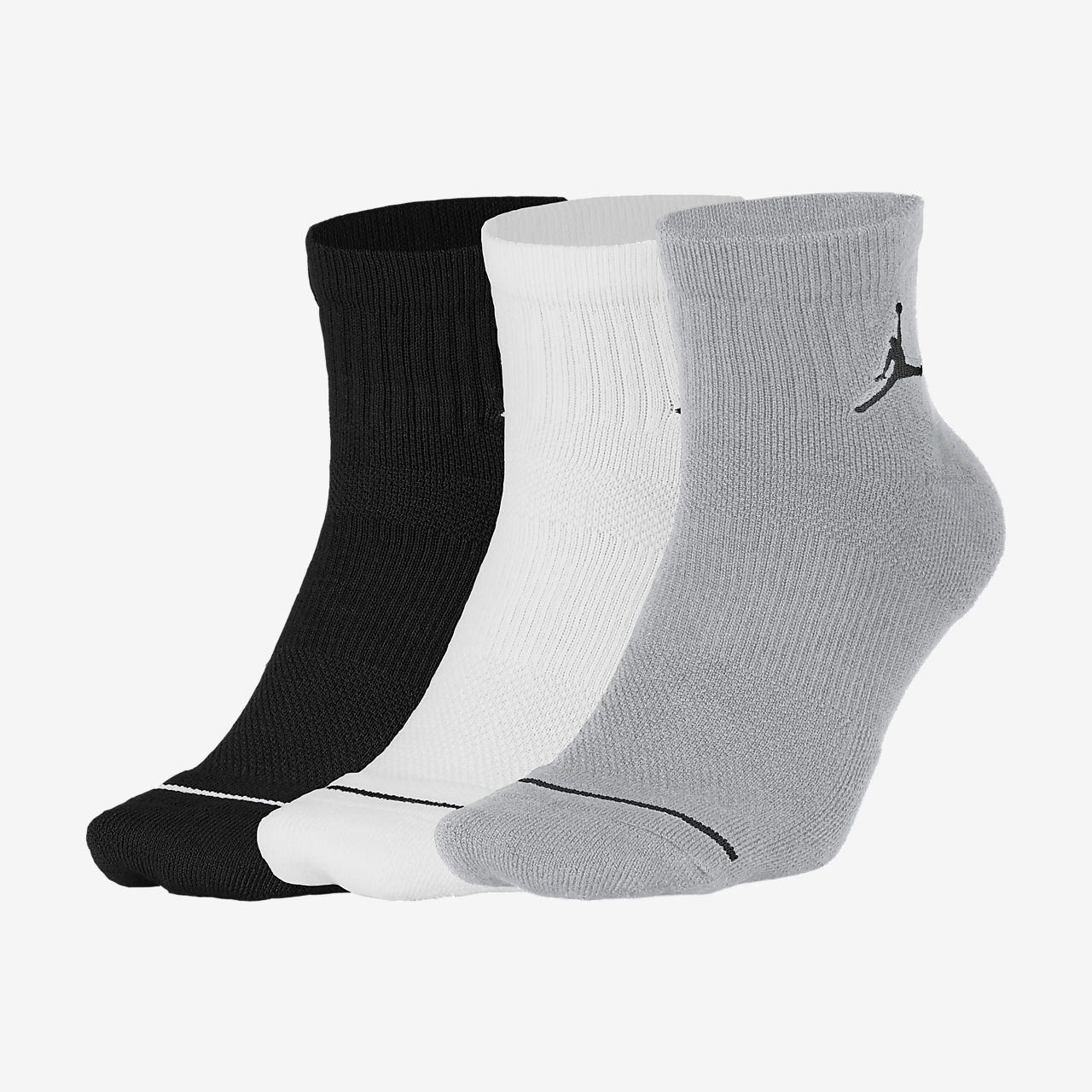 Jordan Jumpman Quarter Socks (3 Pair)