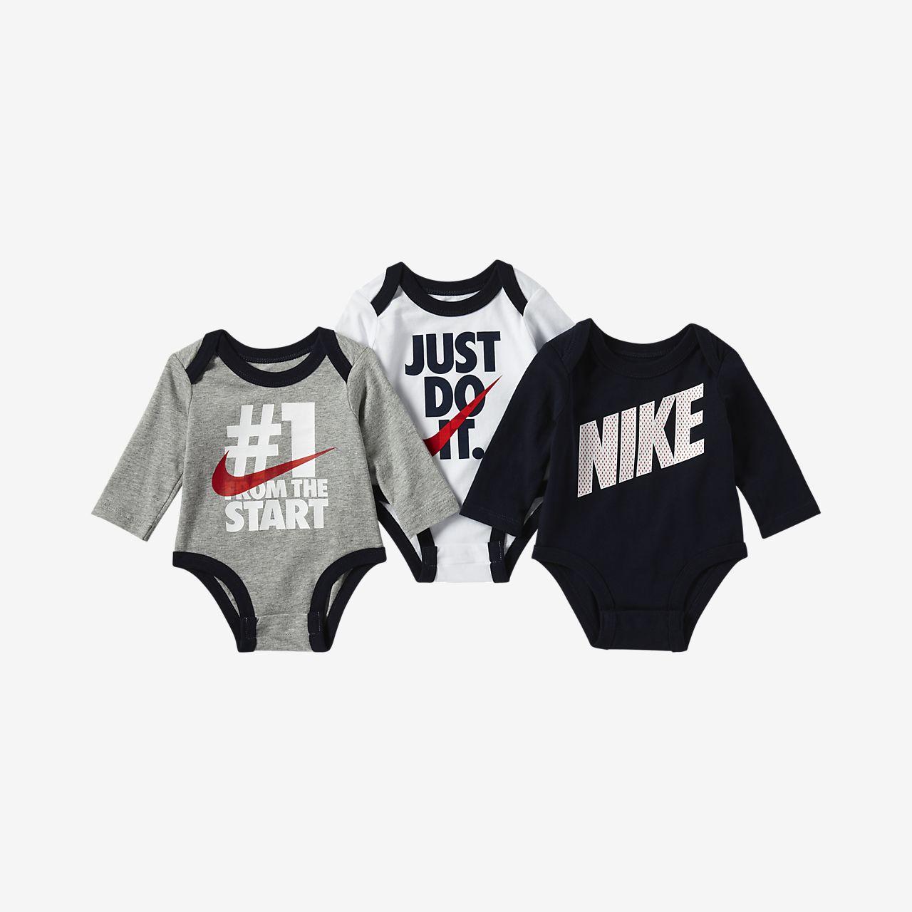 Nike Infant JDI 3-Piece Bodysuit Set