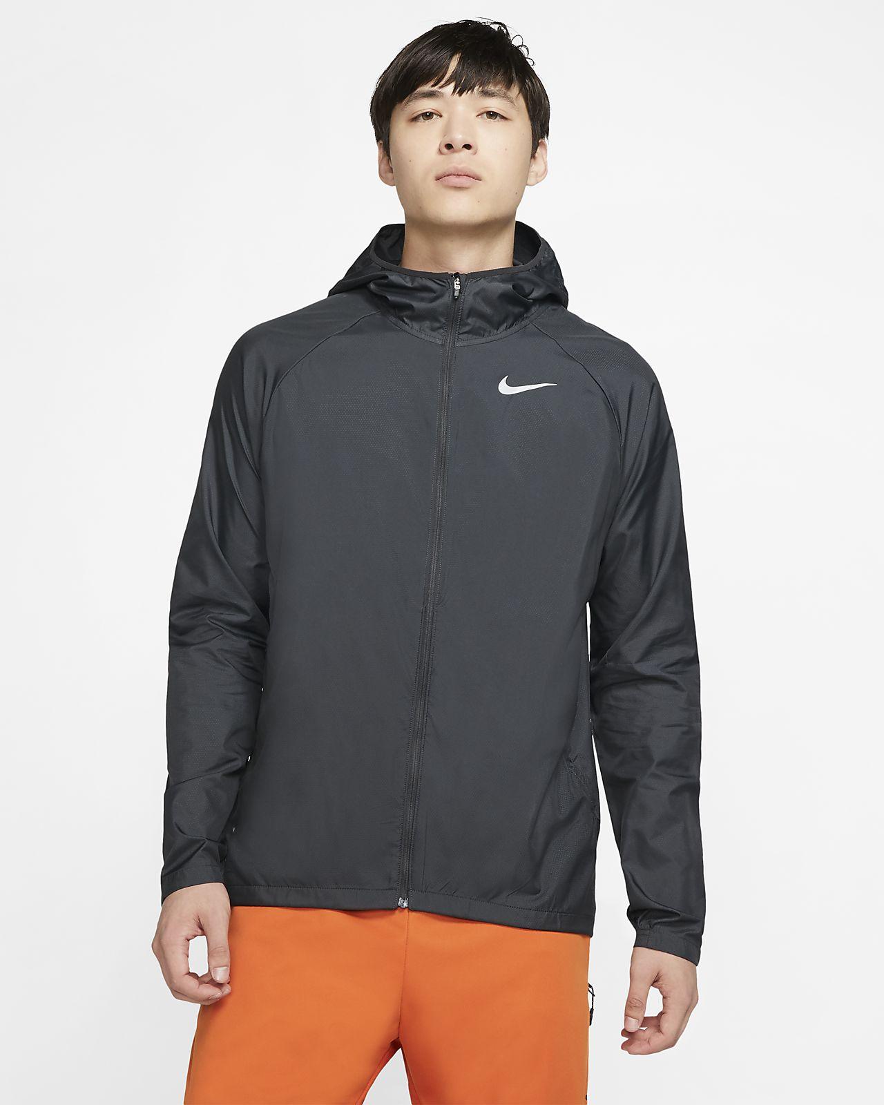 Chamarra de running con capucha para hombre Nike Essential