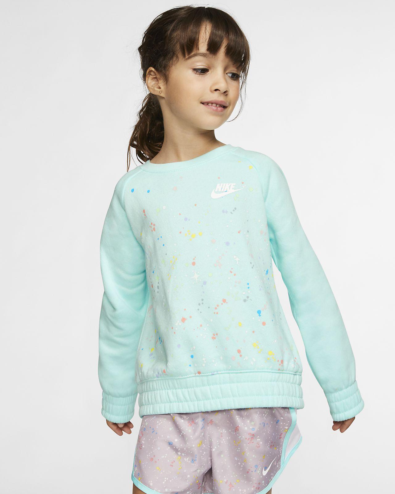 Nike Sportswear 幼童长袖圆领上衣