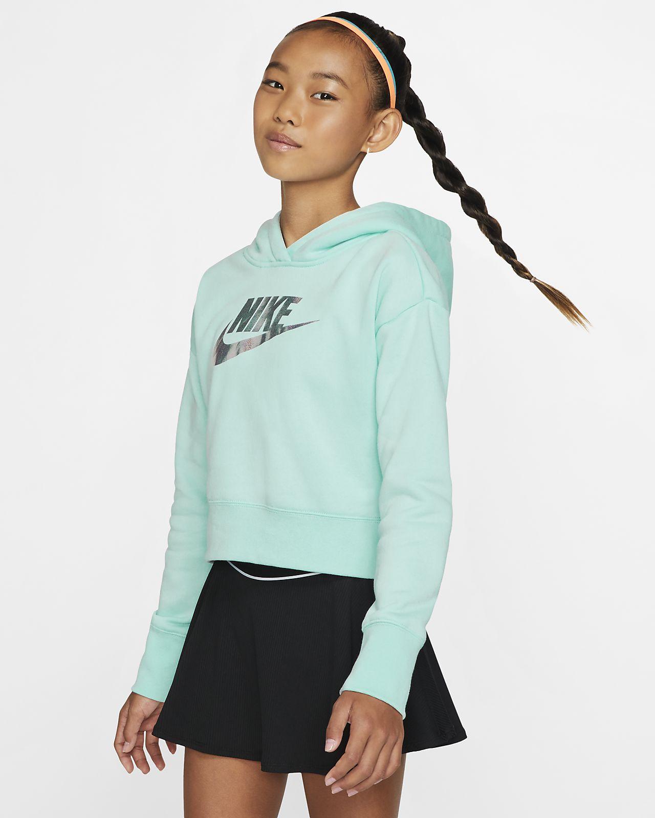 Nike Sportswear Dessuadora amb caputxa curta - Nena