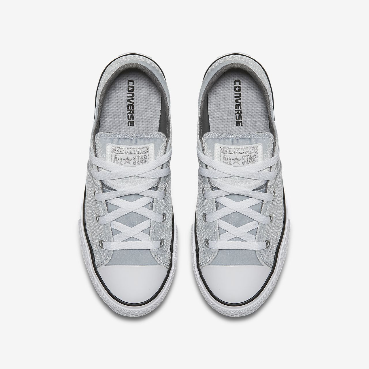 converse chuck taylor 2 kids silver