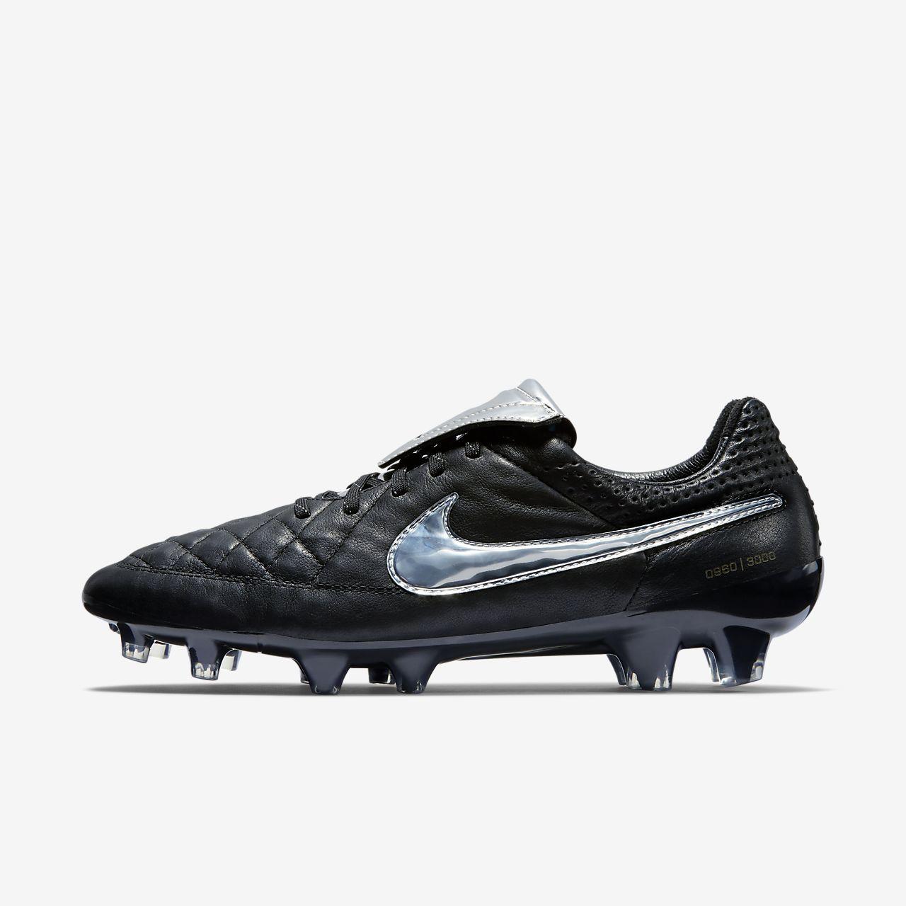 Nike Tiempo Legend V Premium 男子天然硬质草地足球鞋