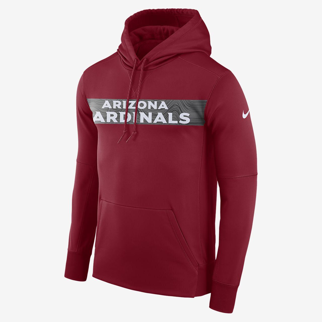 Nike Dri-FIT Therma (NFL Cardinals) - pullover-hættetrøje til mænd