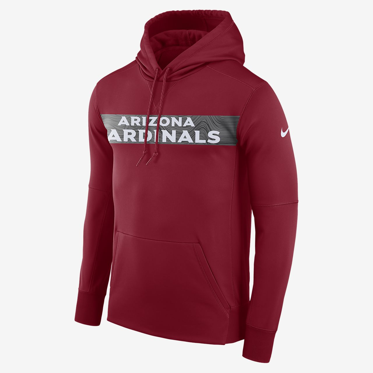 Sudadera con capucha sin cierre para hombre Nike Dri-FIT Therma (NFL Cardinals)
