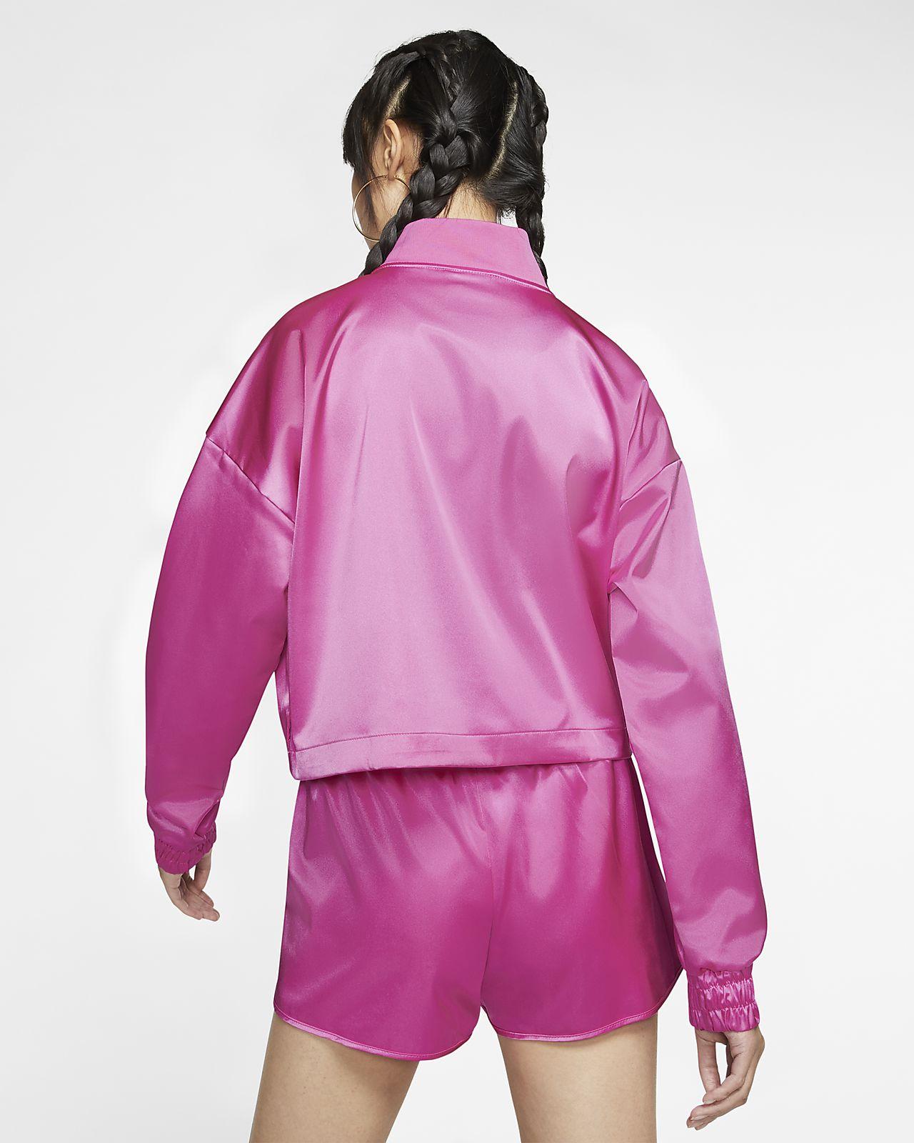 NIKE Air Track Jacket Satin china rose Trainingsjacken bei
