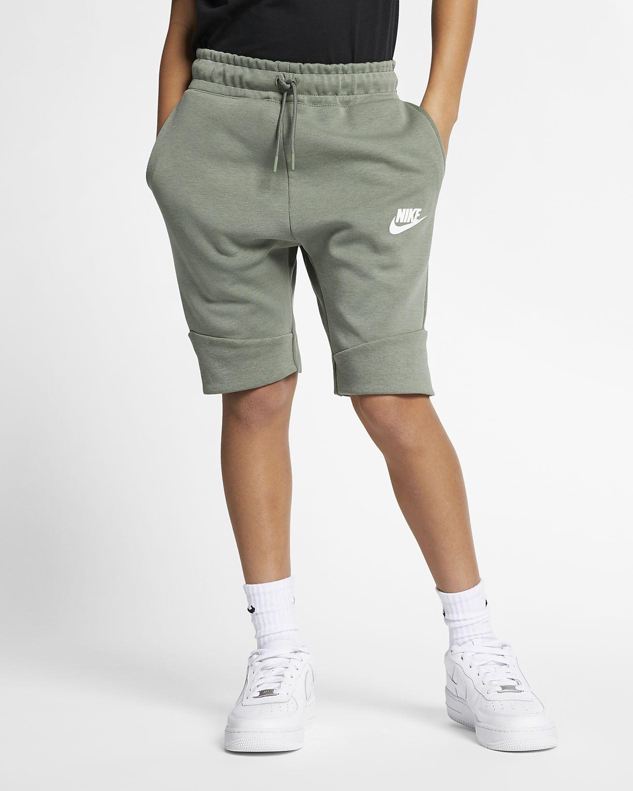 Σορτς Nike Sportswear Tech Fleece για μεγάλα παιδιά