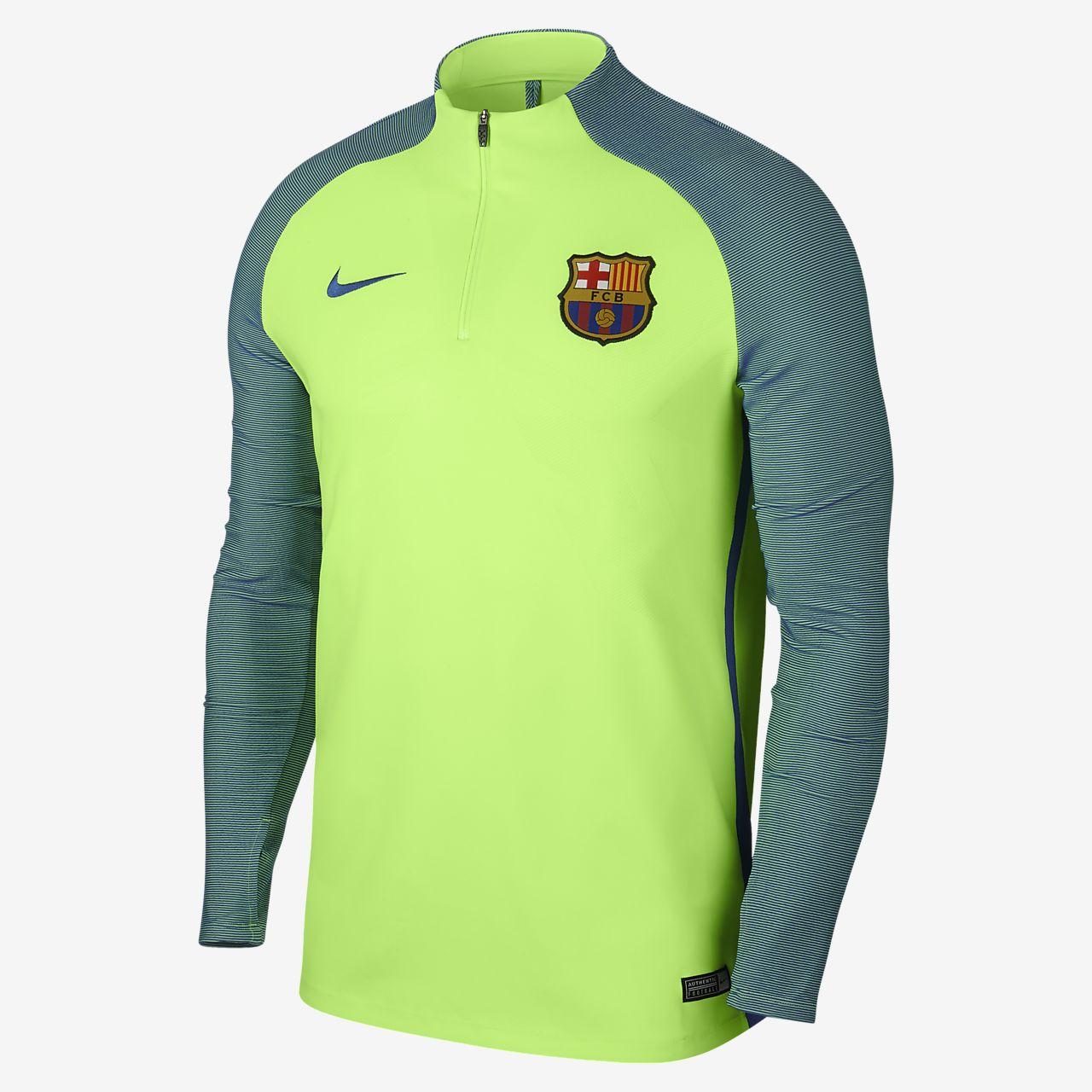 Top de ejercicios de fútbol para hombre FC Barcelona Strike. Nike.com CL f81ab8935885d