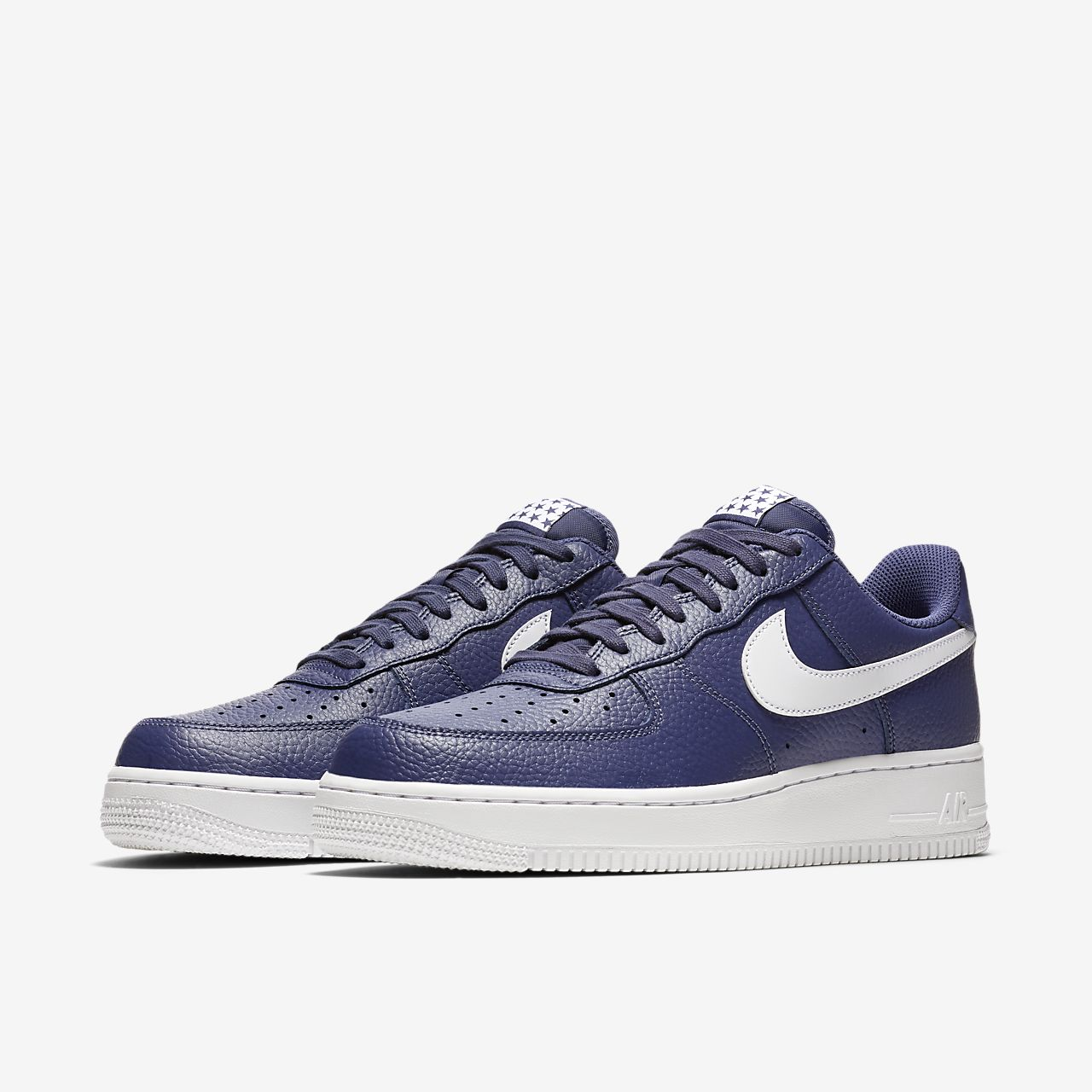 Nike Sportswear AIR FORCE - Trainers - blue recall/white kxbca5kuYk
