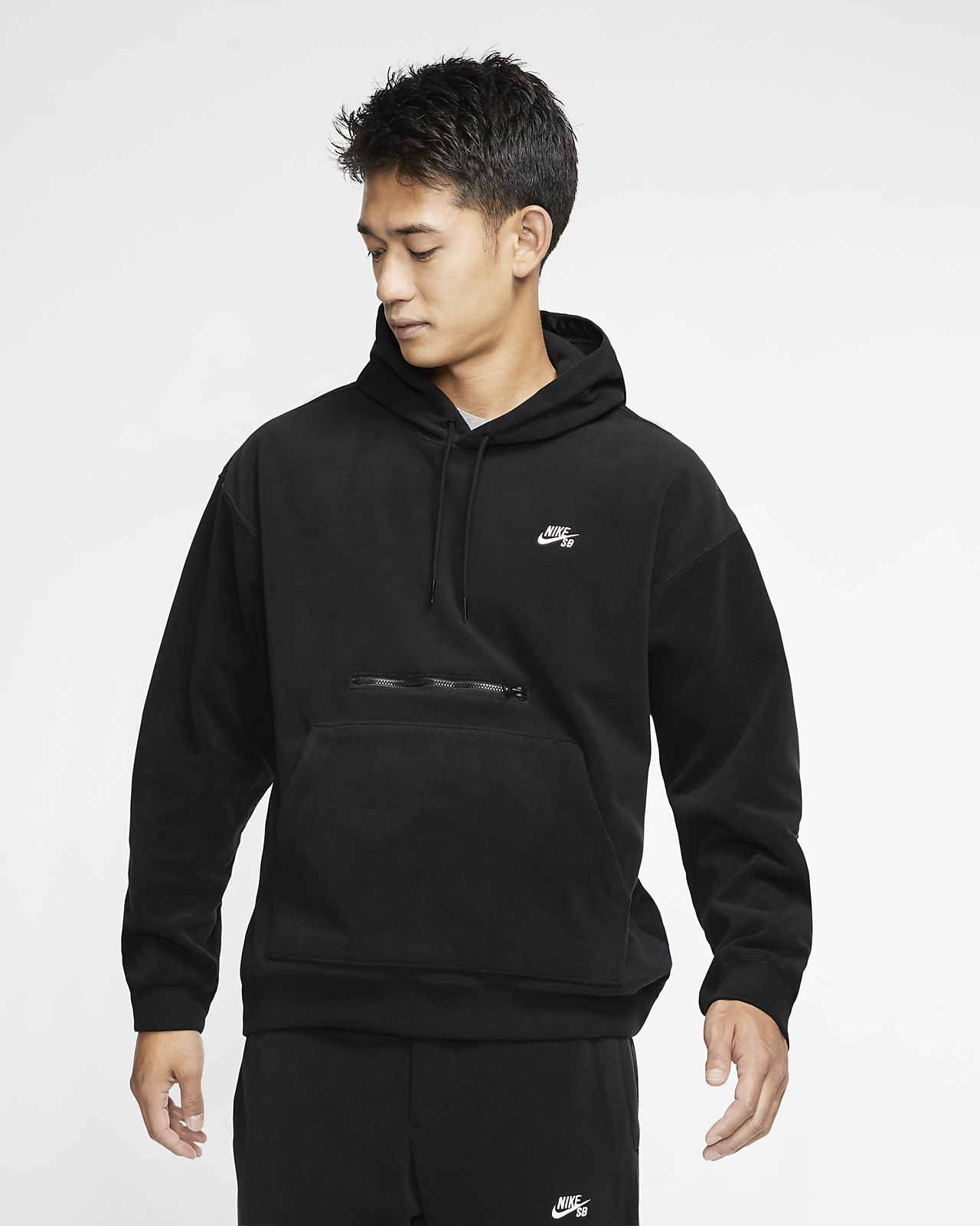 Nike SB Erkek Kaykay Kapüşonlu Üst