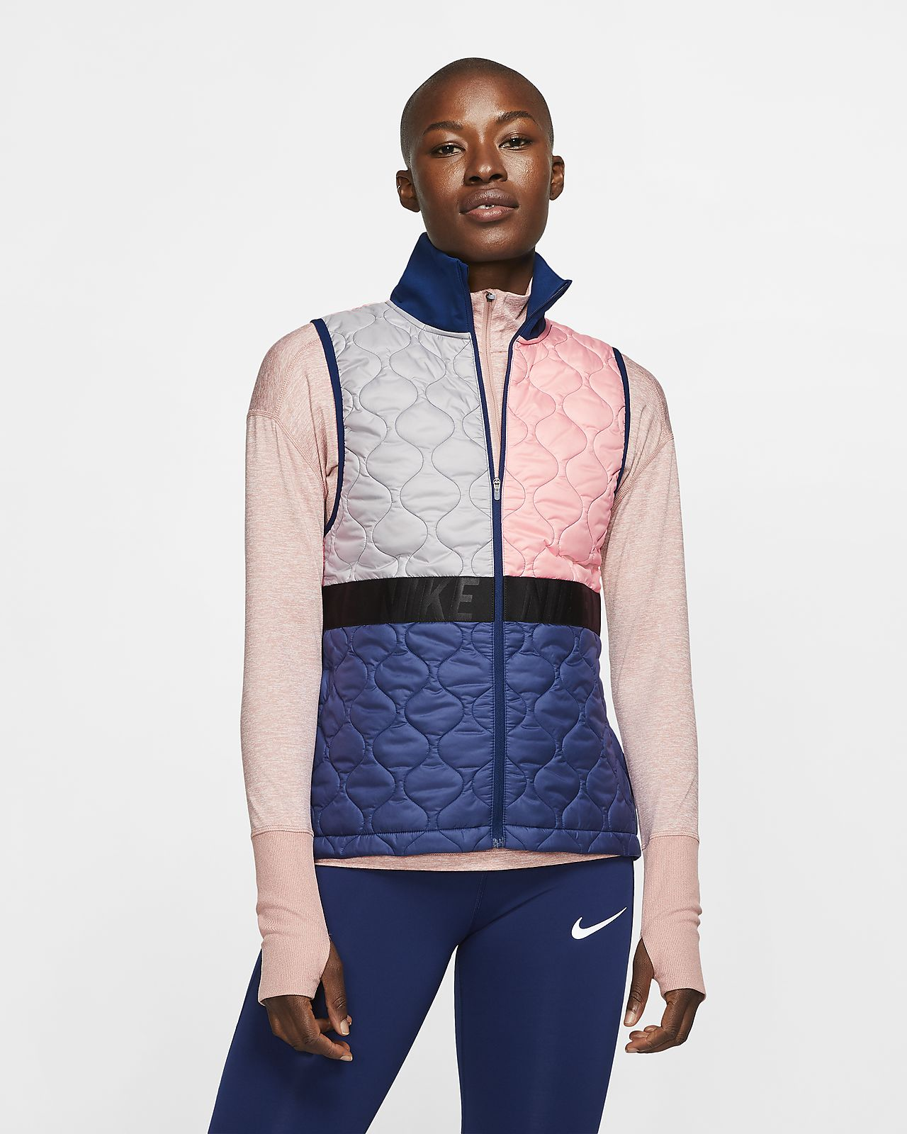 Damski bezrękawnik do biegania Nike AeroLayer