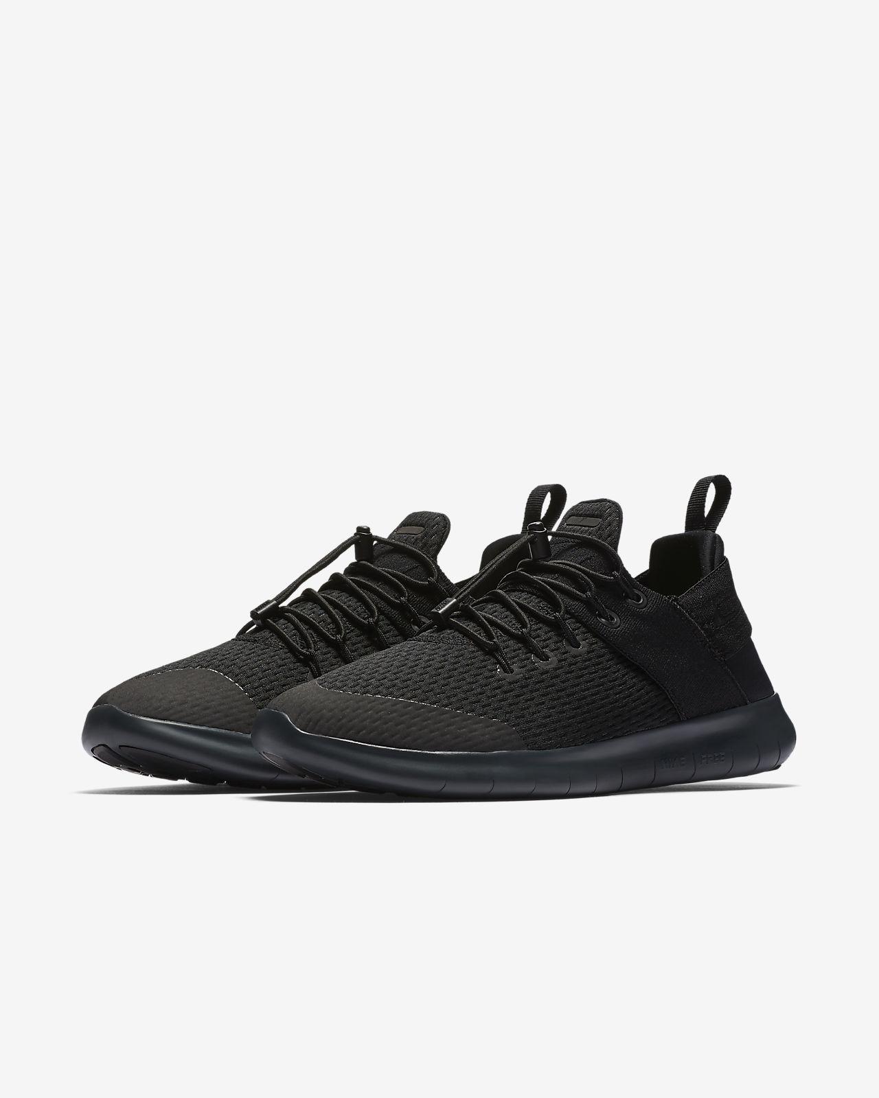 Nike WMNS Free RN 2017, Chaussures de Running Femme, Noir (Noir/Gris Foncé/Anthracite/Blanc), 35.5 EU