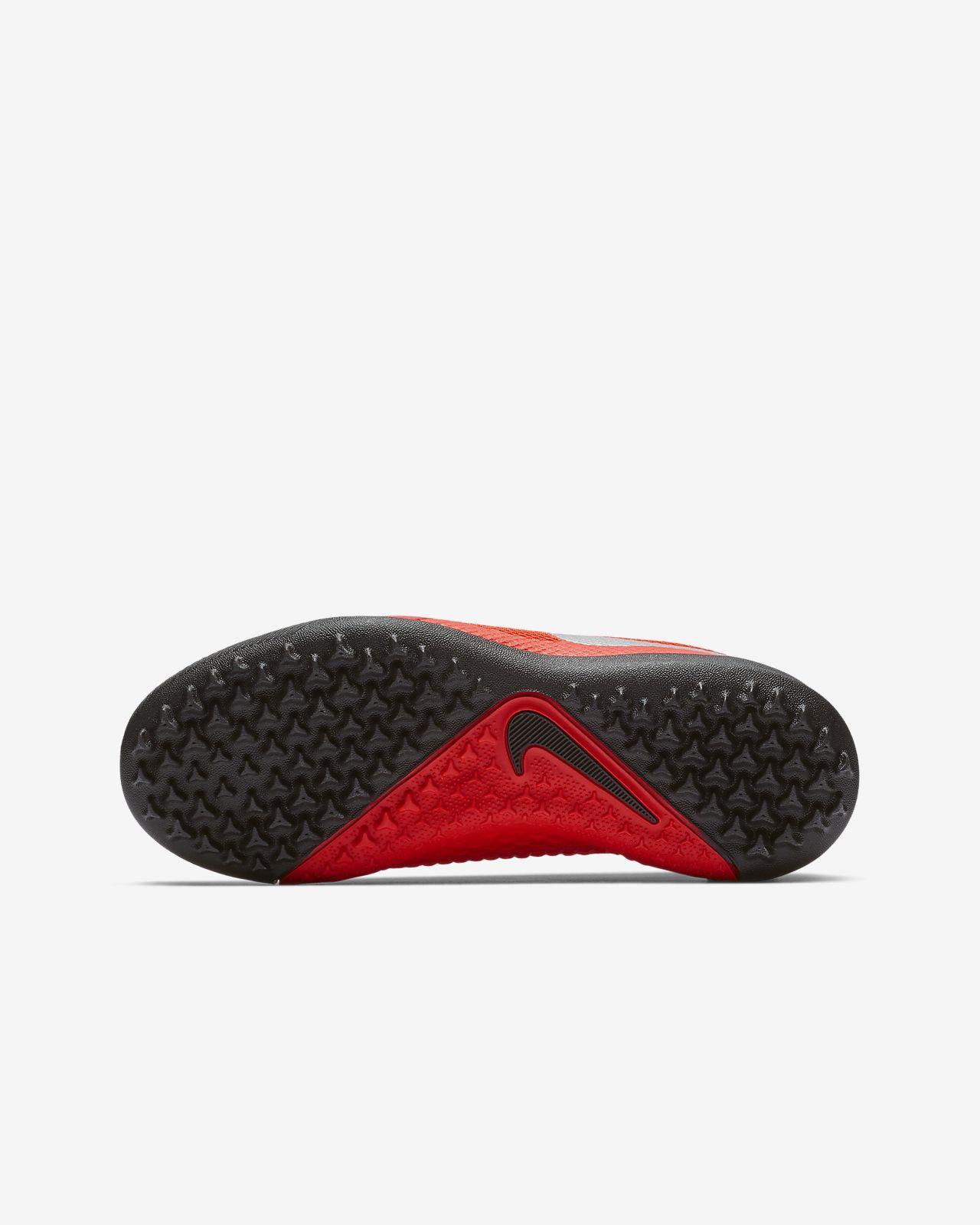 huge discount 3f9dc 706d3 ... Nike Jr. PhantomVSN Academy Game Over TF Younger Older Kids  Turf  Football Shoe