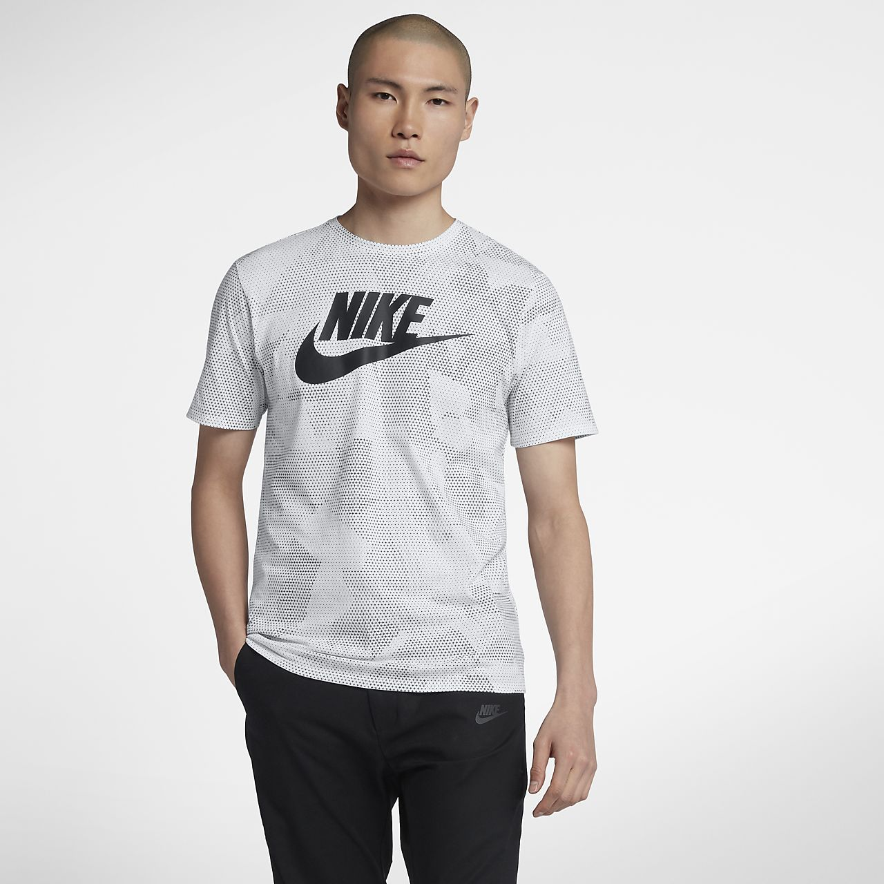 nike t shirt uomo rose