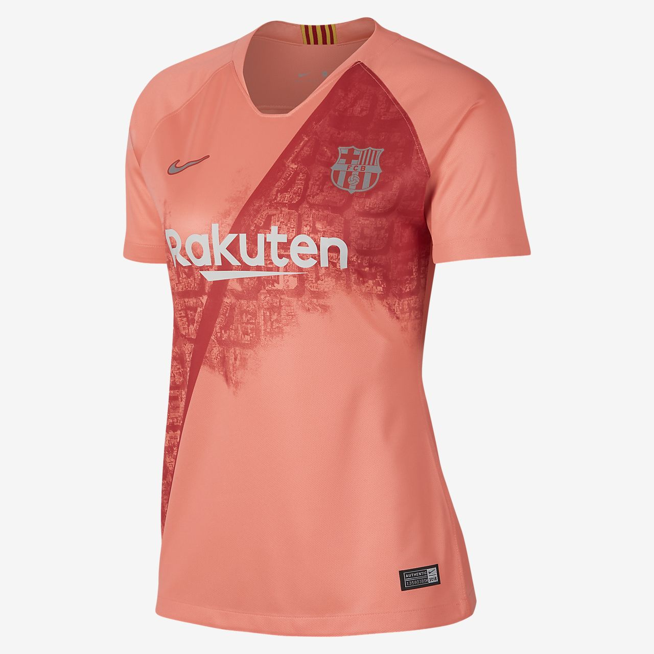 Barcelona Camiseta Del Stadium Para Mujer Fc De Fútbol Alternativa PYPw8qr