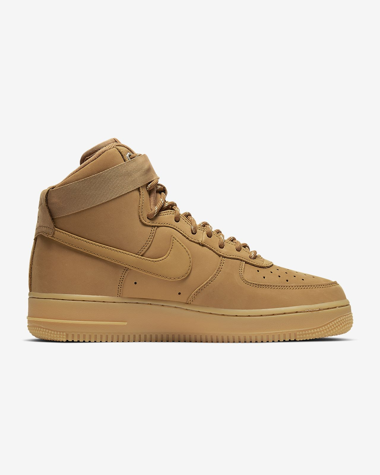 2019 Nike Air Force 1 '07 3 High WhiteUniversity Gold AT4141 101