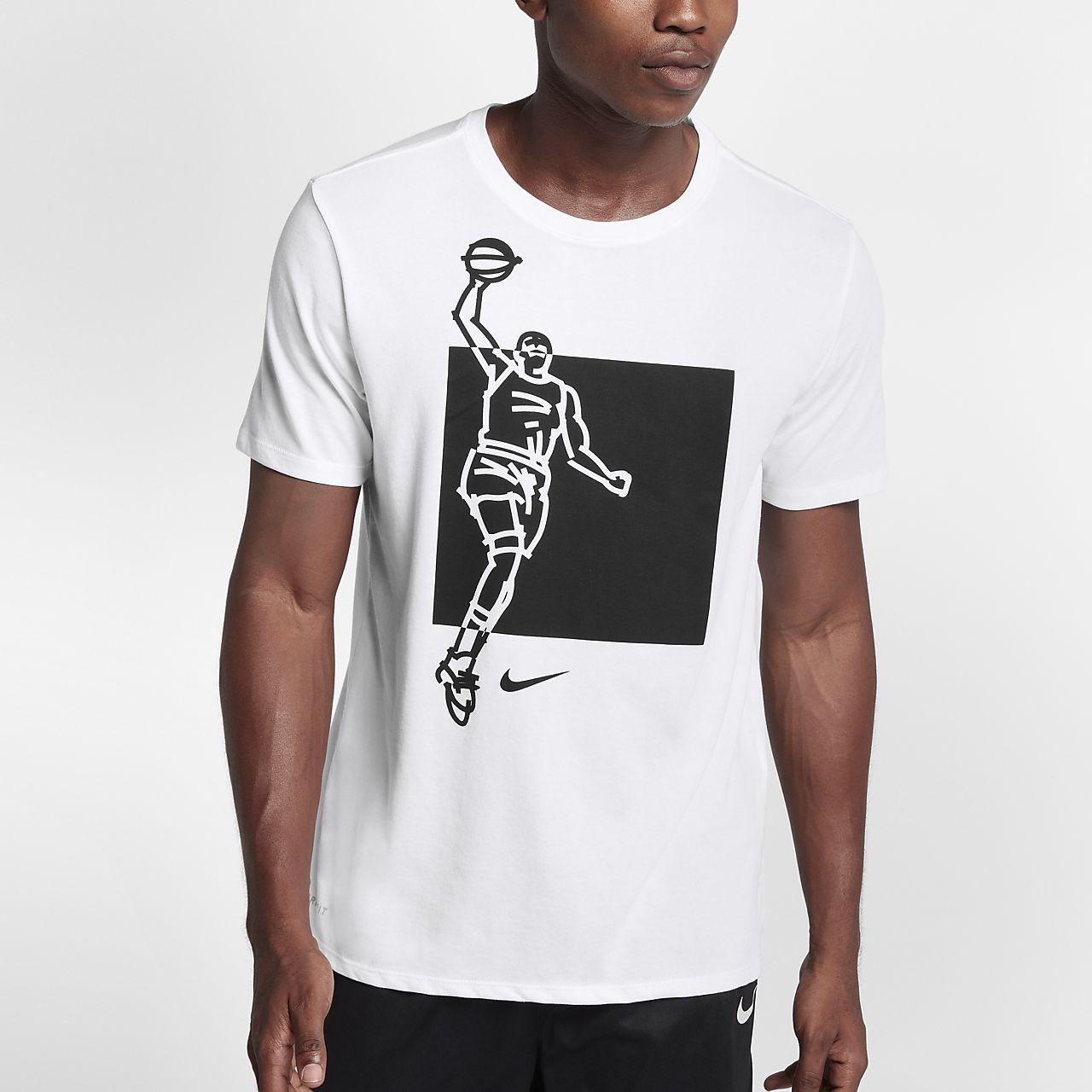 Nike Dry KD Men's T-Shirts White
