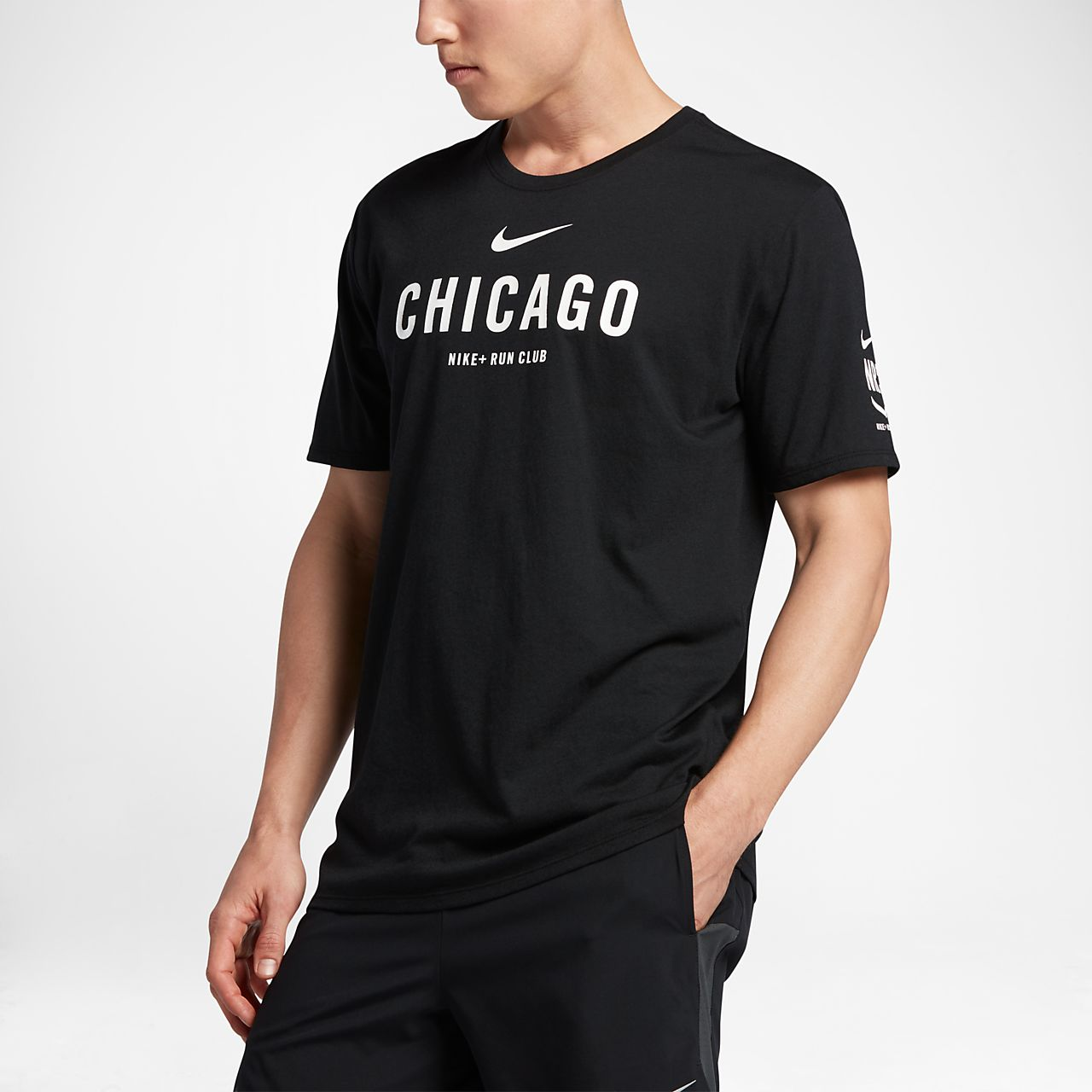 ... Nike Dri-FIT Run Club (Chicago) Men's T-Shirt