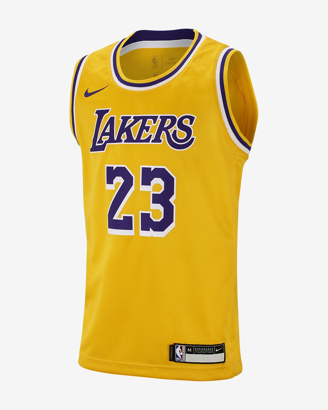 16c68c11655 Big Kids  Nike NBA Jersey. LeBron James Icon Edition Swingman (Los Angeles  Lakers)