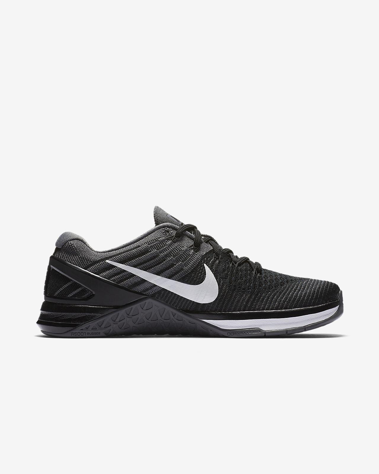 Nike - Metcon DSX Flyknit 2 Damen Trainingsschuh (schwarz/weiß) - EU 36 - US 5,5