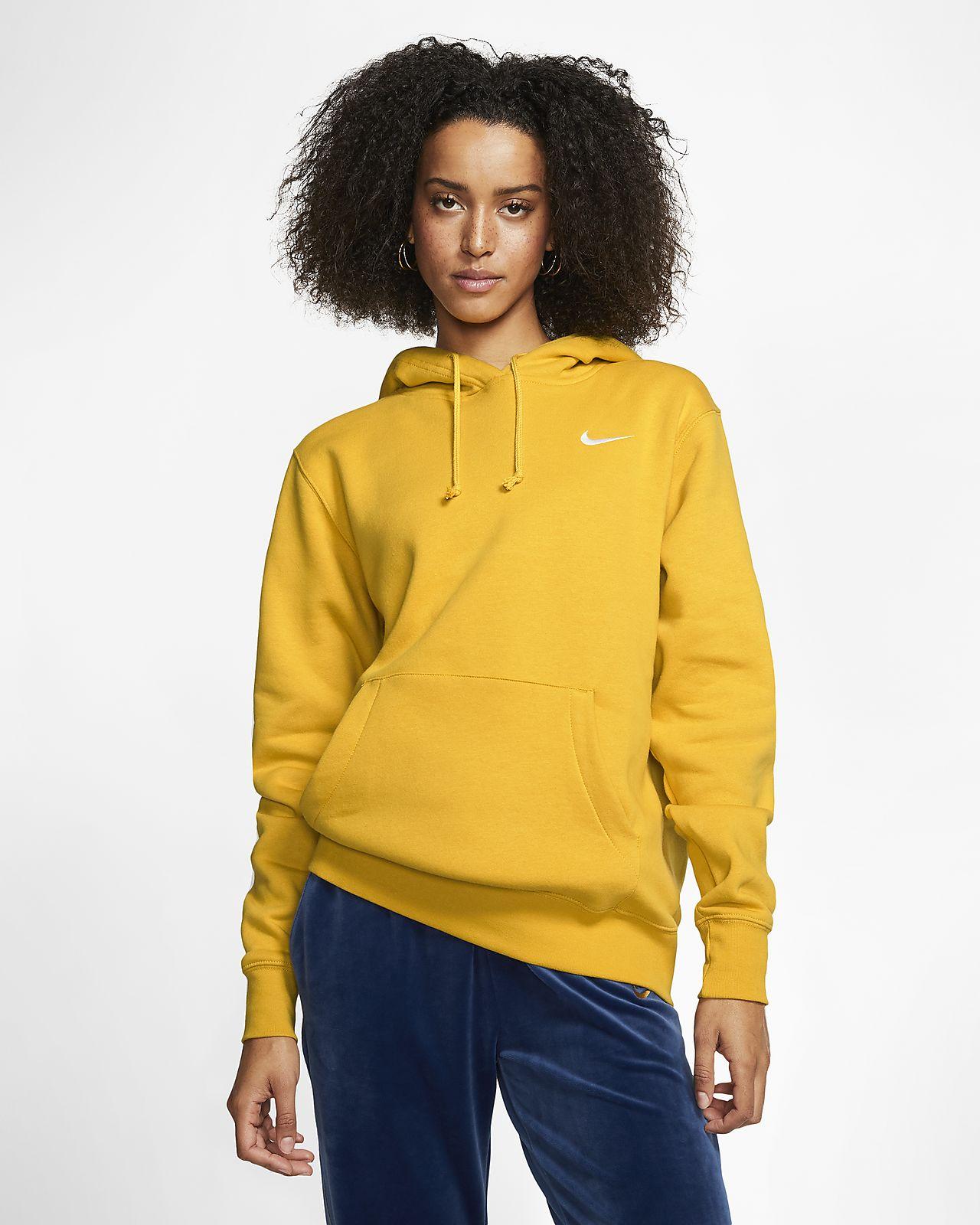 Flísová mikina Nike Sportswear Essential s kapucí
