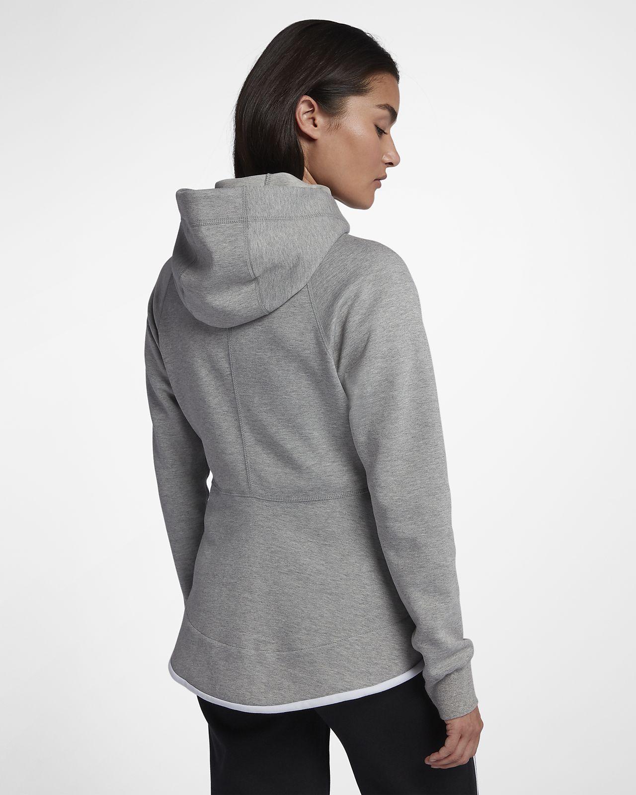 durchgehendem Nike Sportswear Reißverschluss mit Fleece Hoodie Damen Tech Windrunner AR34q5jcL
