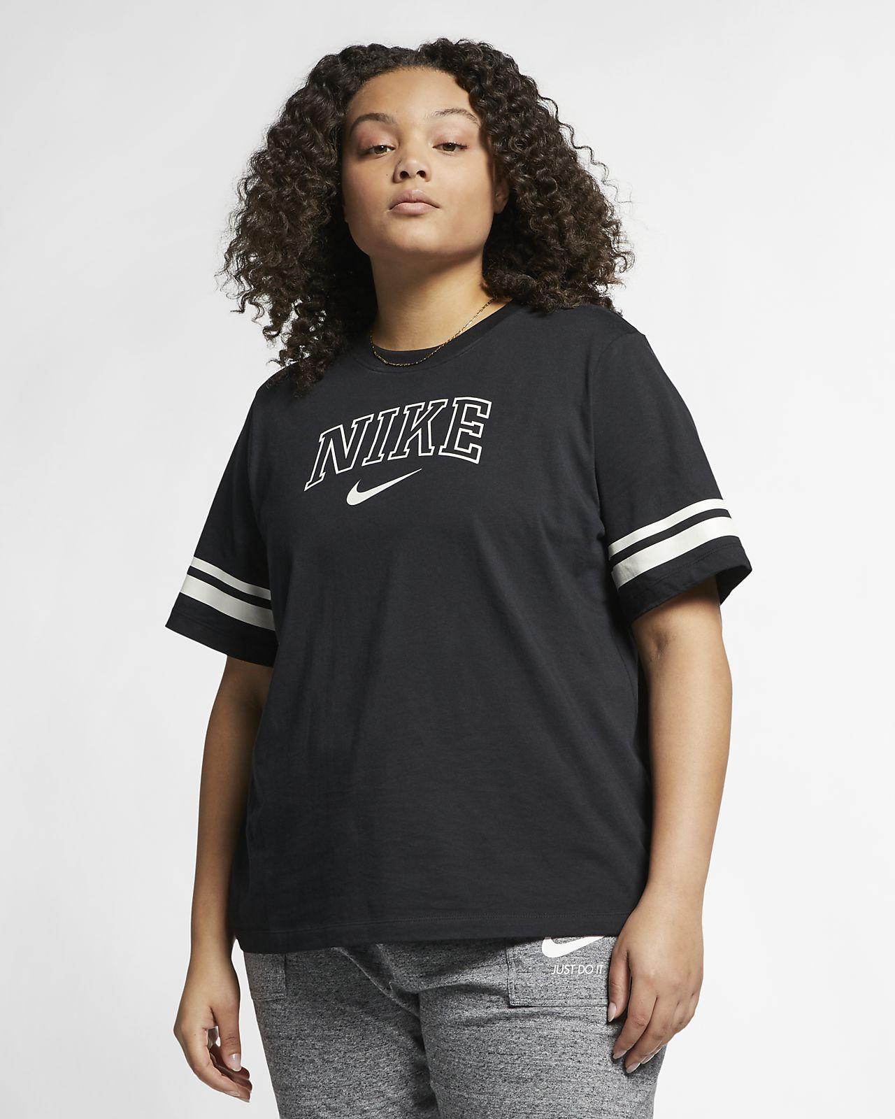 92a5b23a18b Nike Sportswear Women's Short-Sleeve Top (Plus Size). Nike.com