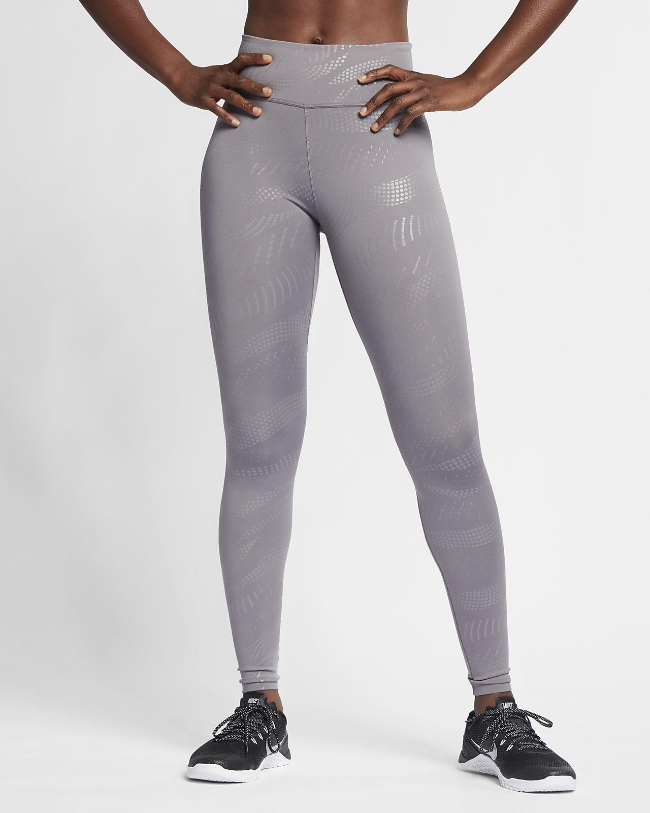 Nike One mønstret tights til dame
