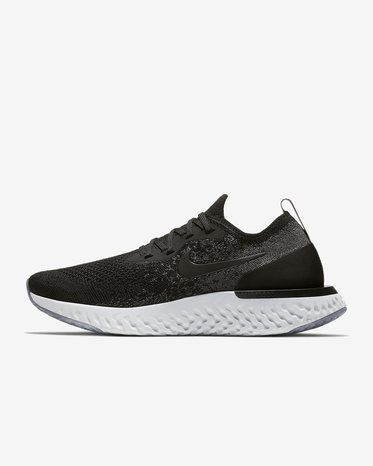Nike Epıc React Flyknıt Kadın Siyah Koşu Ayakkabısı