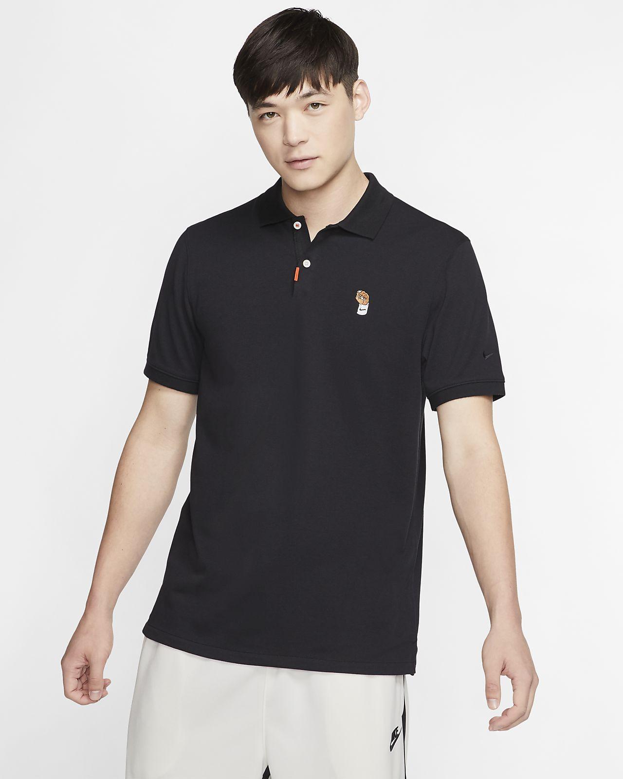 The Nike Polo ¡Vamos Rafa! Рубашка-поло унисекс с плотной посадкой
