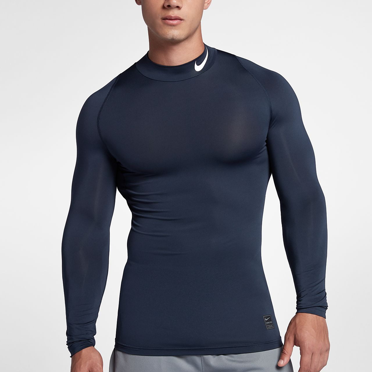 Långärmad träningströja Nike Pro för män