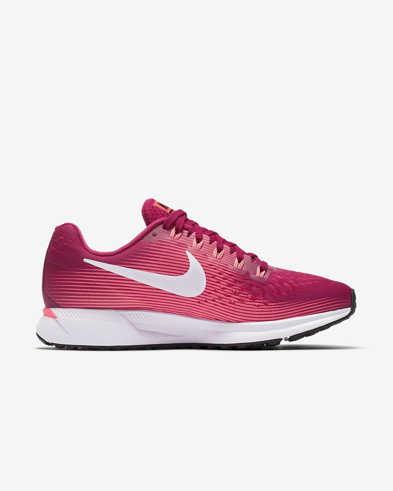 super popular 47968 9ff6c Nike - Air Zoom Pegasus 34 chaussures de running pour femmes (bleu clair) -