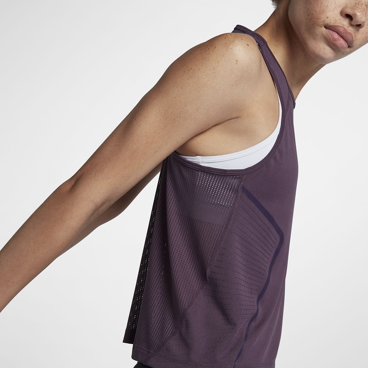 1f9cdce254ef2 Nike Dri-FIT Miler Women s Running Tank Top. Nike.com NZ