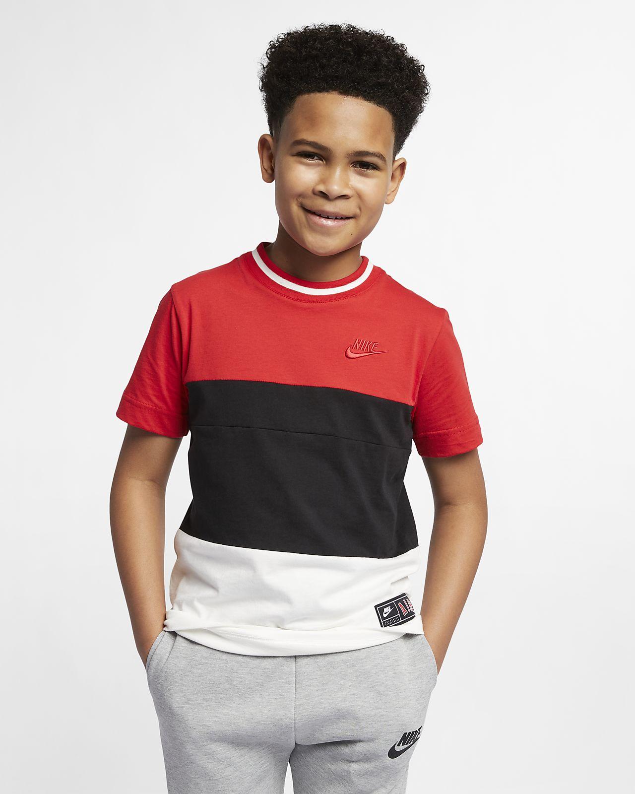 brand new b91ad 4032d ... Kortärmad tröja Nike Air för ungdom (killar)