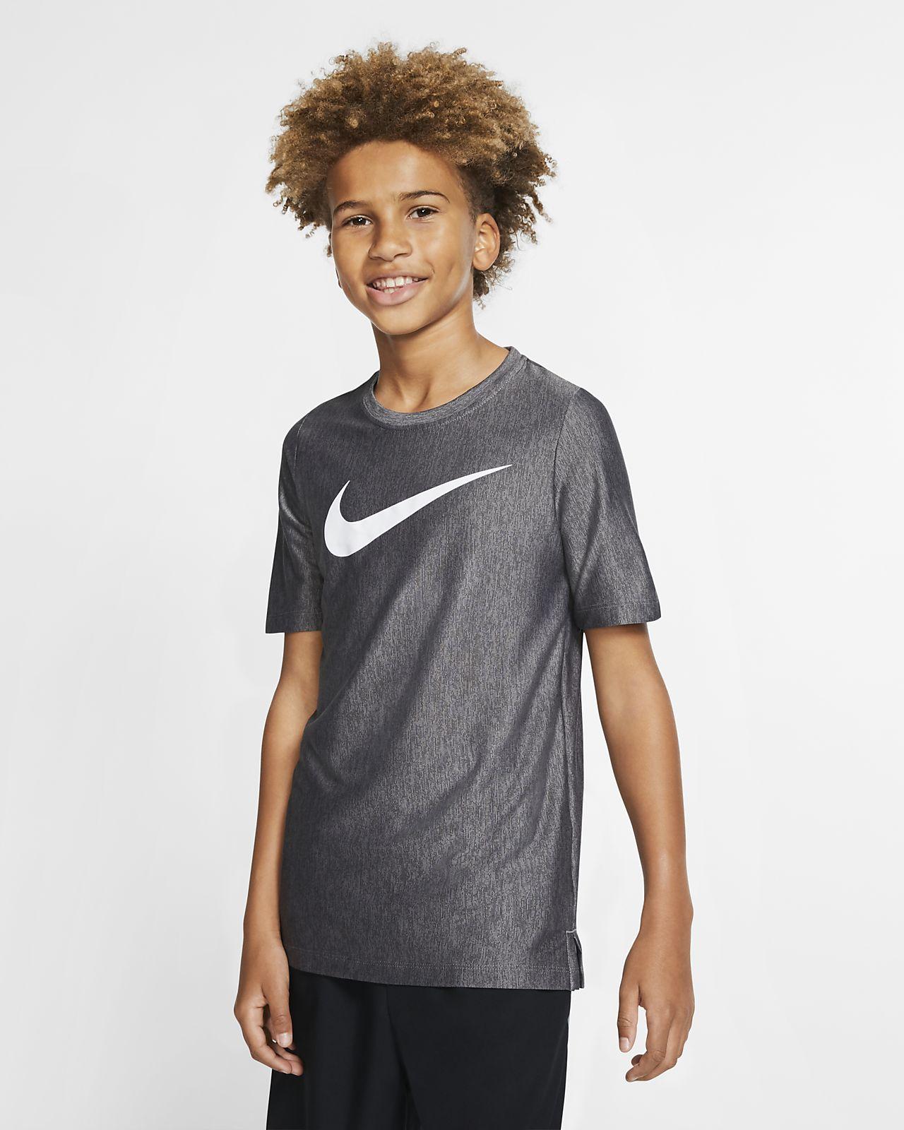 Nike Dri-FIT大童(男孩)短袖训练上衣