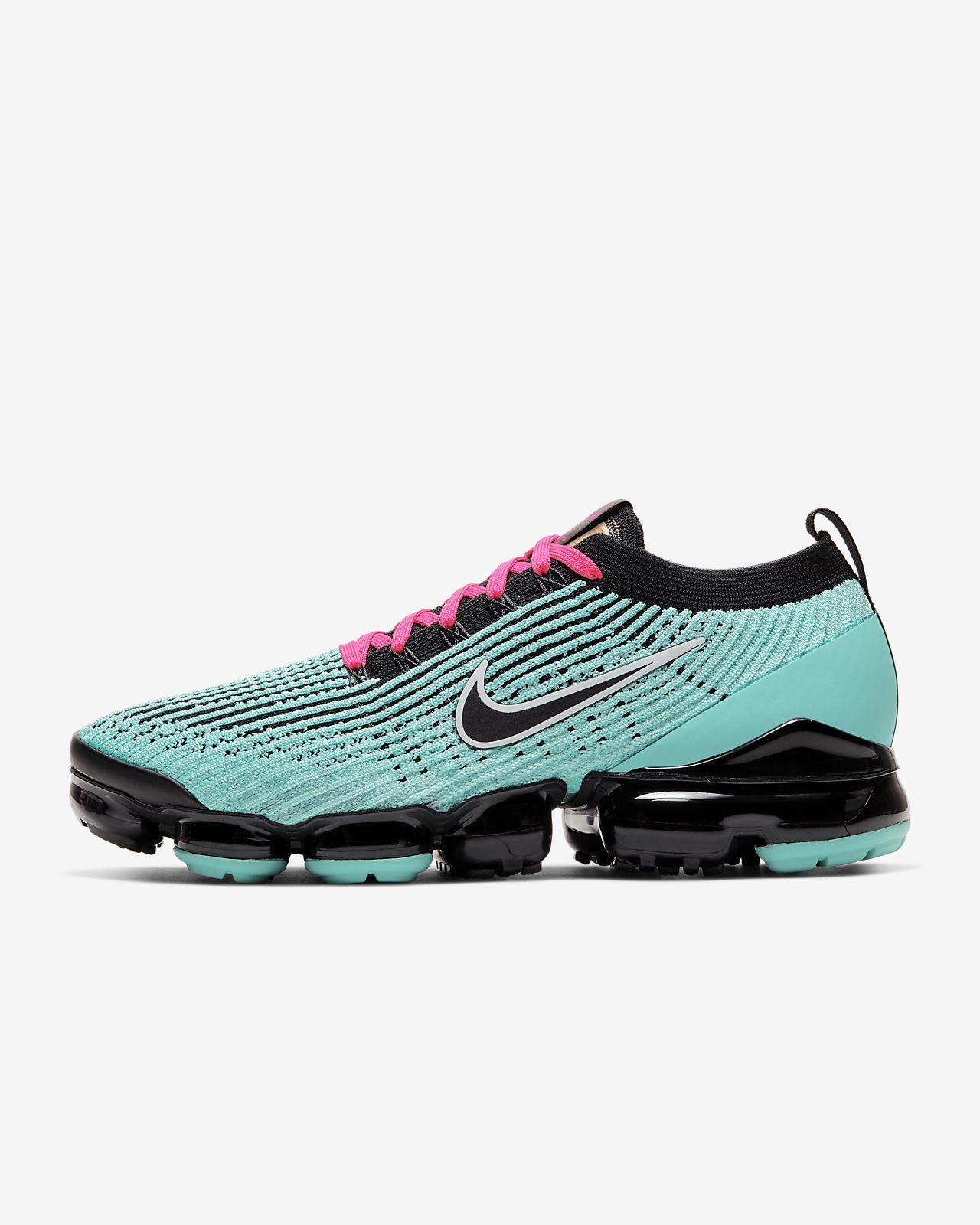 Nike Air VaporMax Flyknit Schuhe Schwarz für Damen Günstig