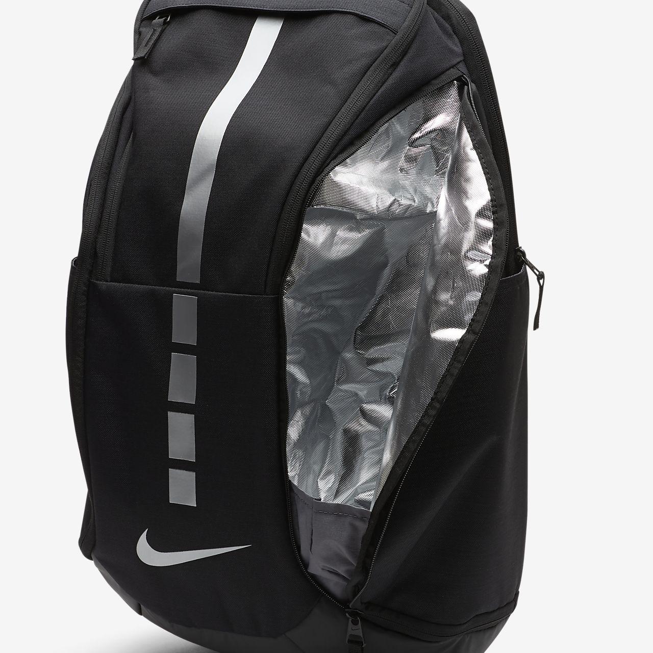 Sac Nike Hoops Elite Pro blackblackmtlc cool grey