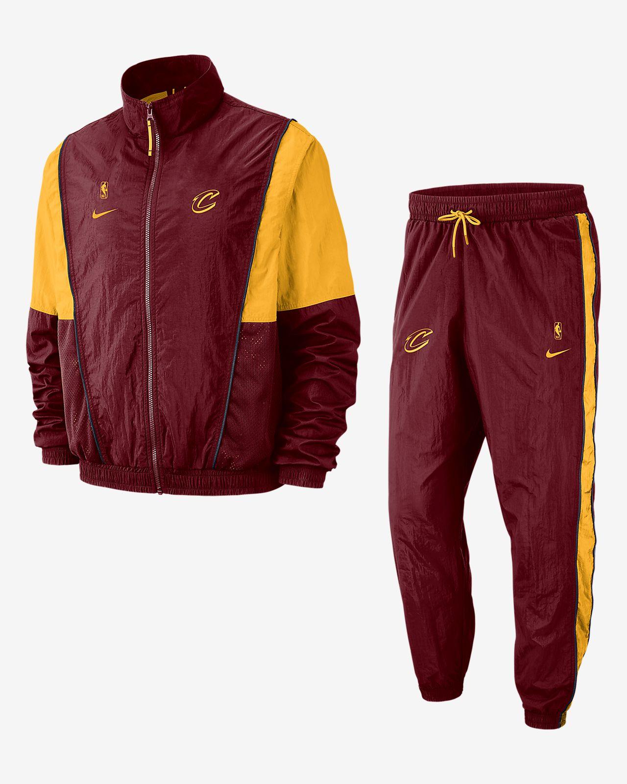 Conjunto de entrenamiento de la NBA para hombre Cleveland Cavaliers Nike 00219e8c056