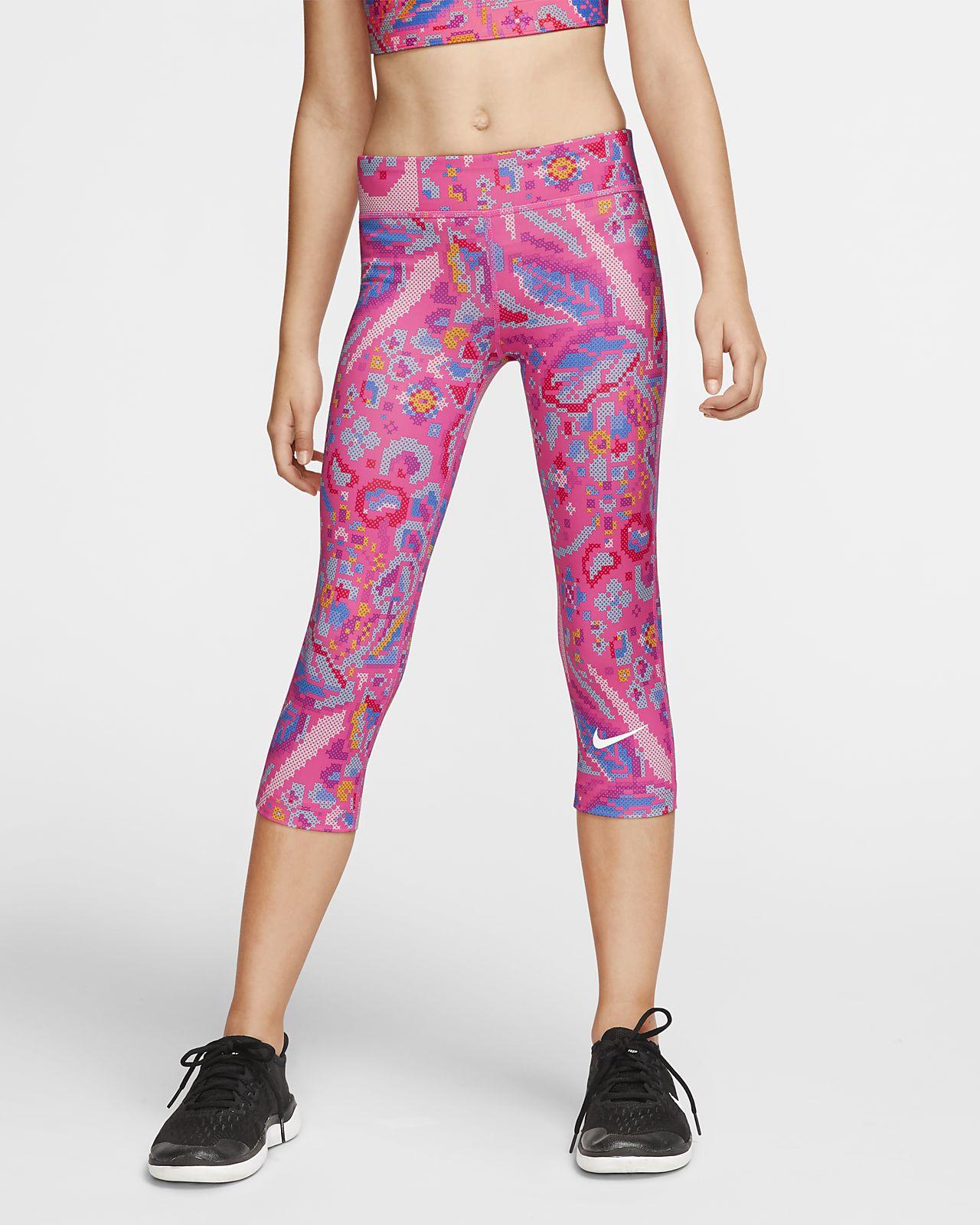 Nike One Caprihose für ältere Kinder (Mädchen)