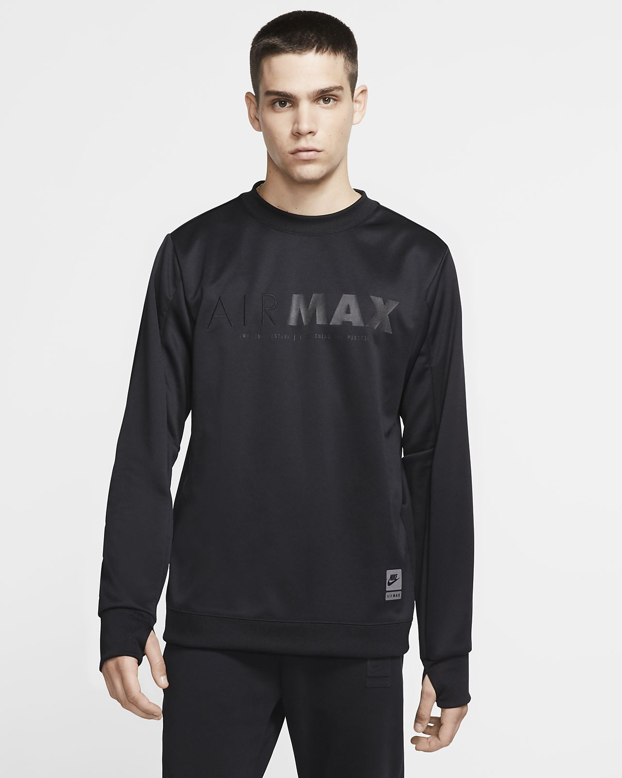 Tröja med rundad hals Nike Sportswear Air Max för män