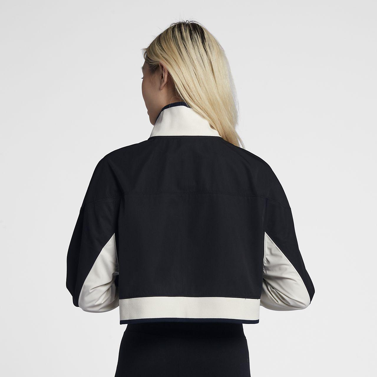 Women's Vest - Nike Woven 2-in-1 - Black/Black/Black : D52g6538
