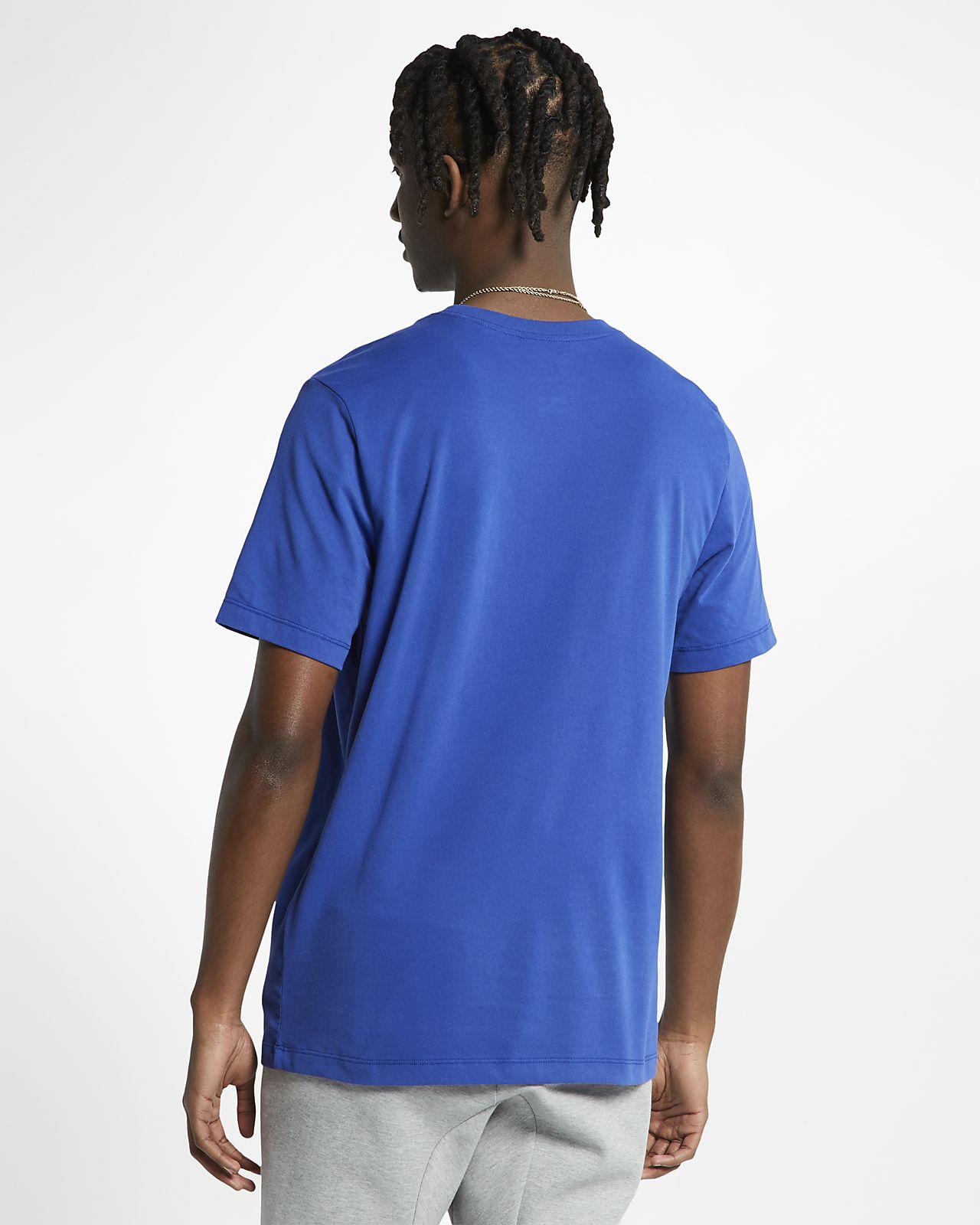 64346179 New York Knicks Nike Dri-FIT Men's NBA T-Shirt. Nike.com GB